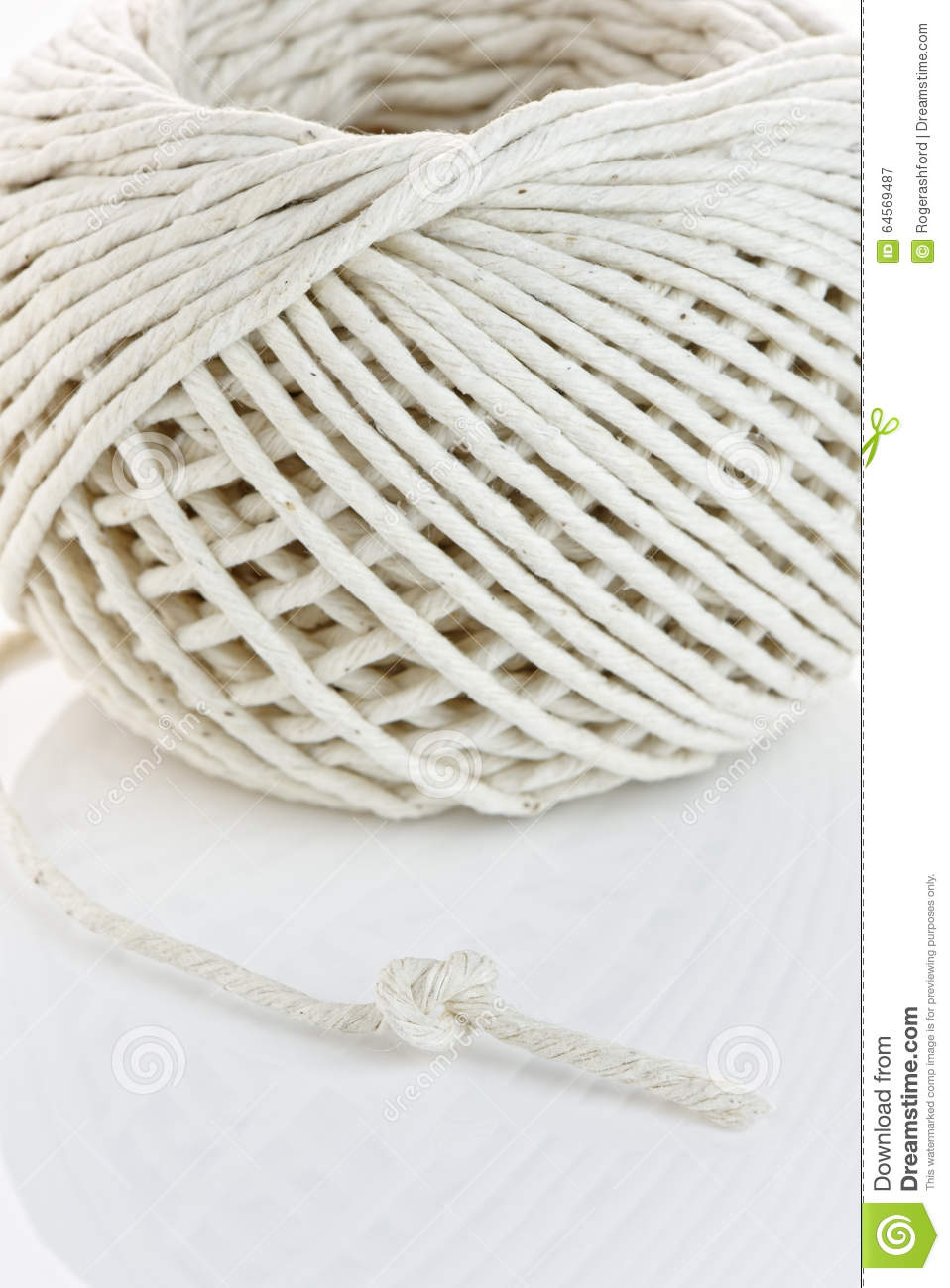 how to knot end of string