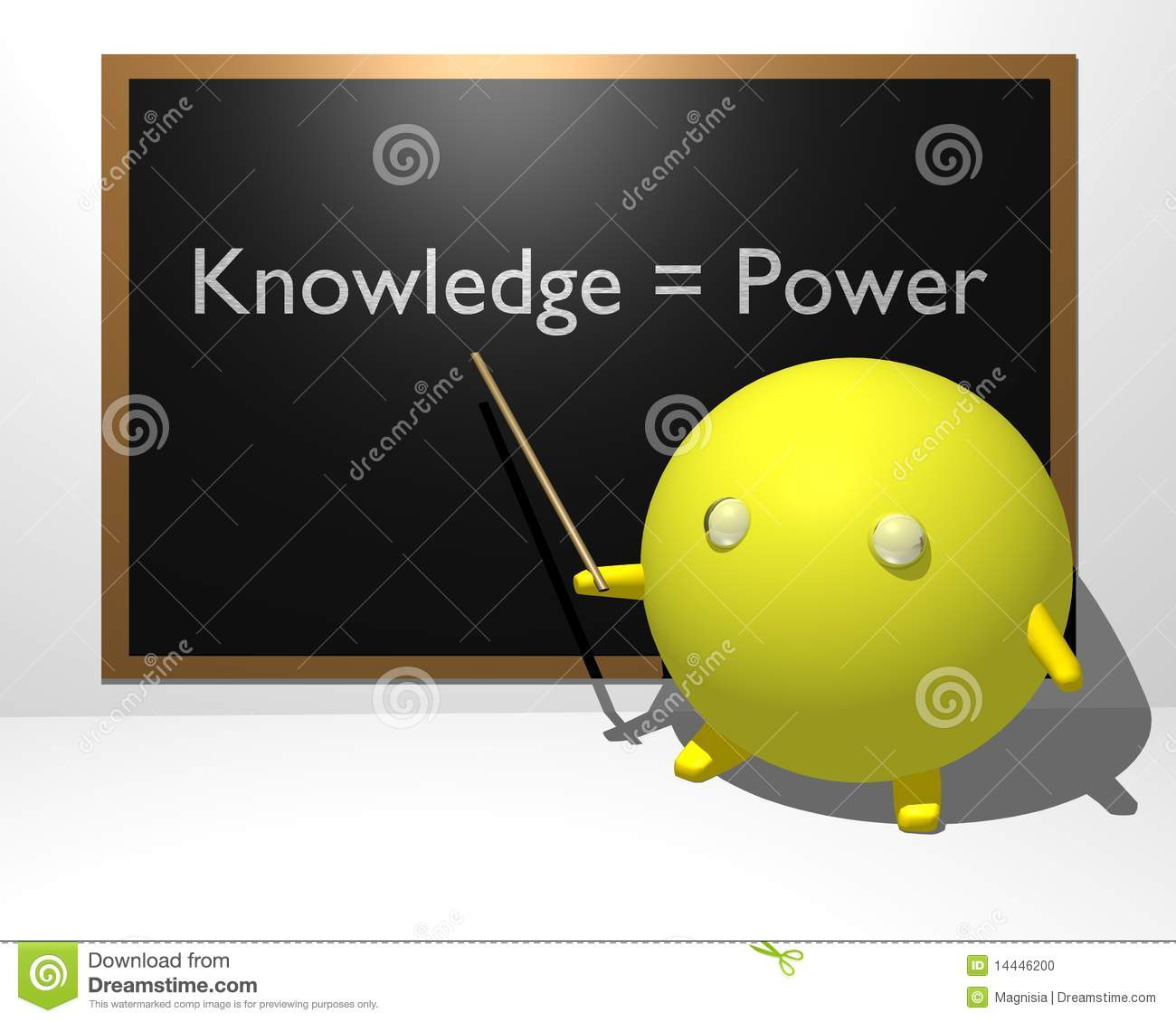 Knowledge equals Power