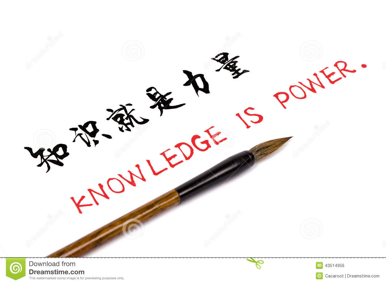 Knowledge Is Power Stock Illustration Illustration Of Culture