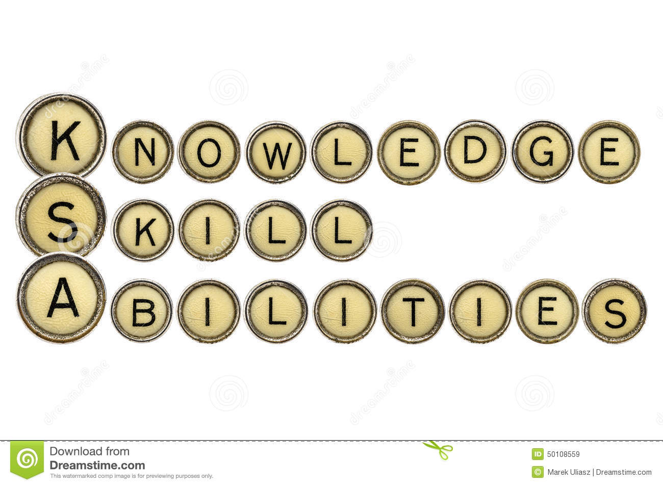 knowledge skills and abilities stock photo image  knowledge skills and abilities