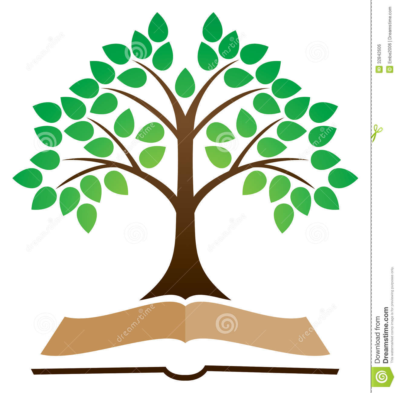 Knowledge Tree Book Logo