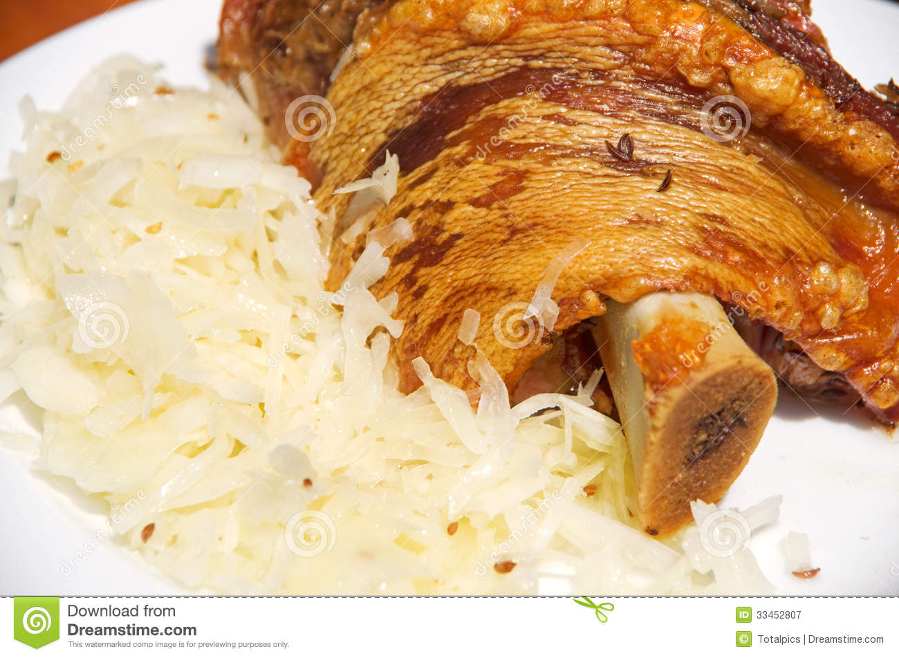 Knuckle Of Pork Oktoberfest Royalty Free Stock Photography - Image ...