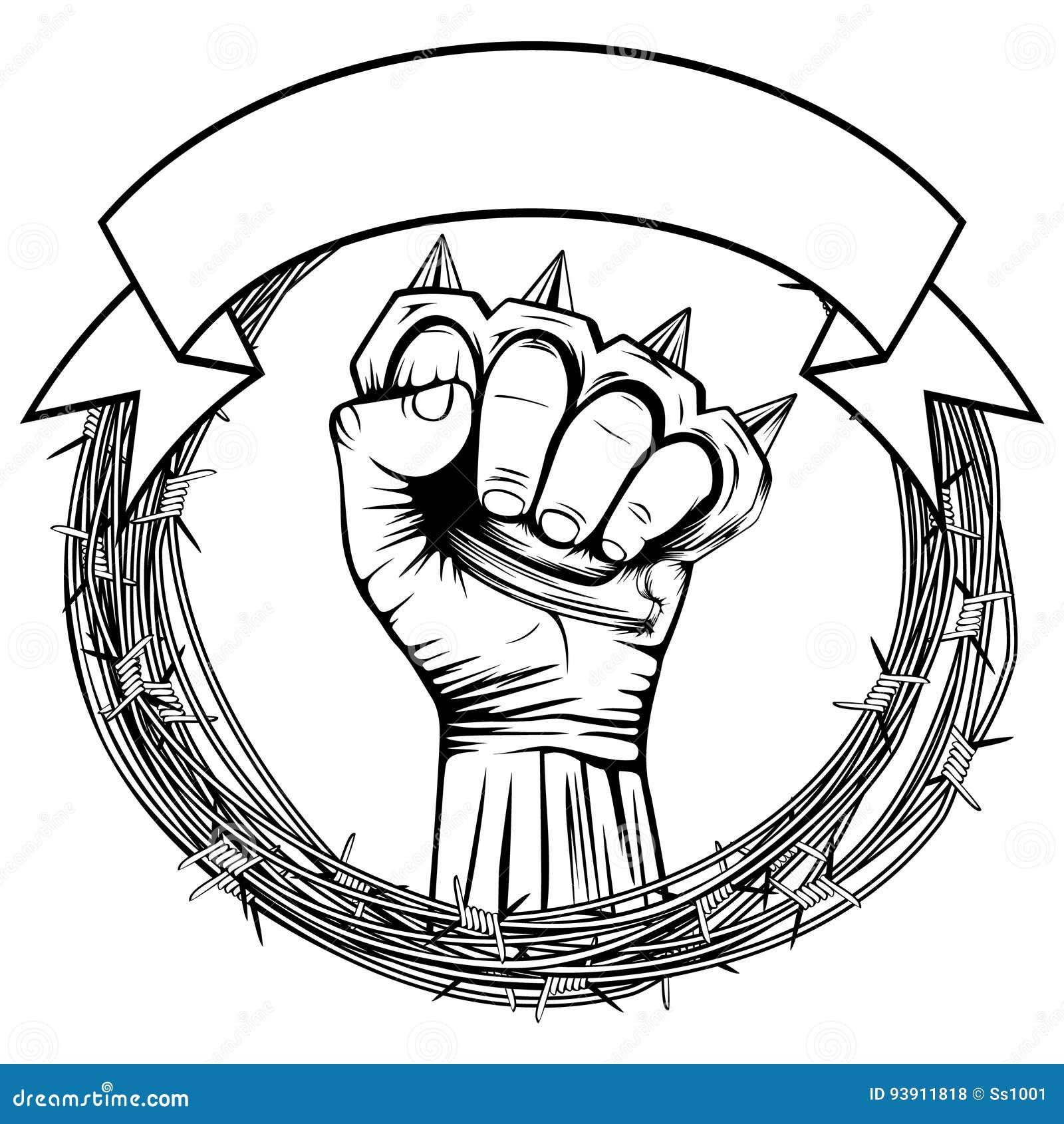 knuckleduster cartoons  illustrations  u0026 vector stock