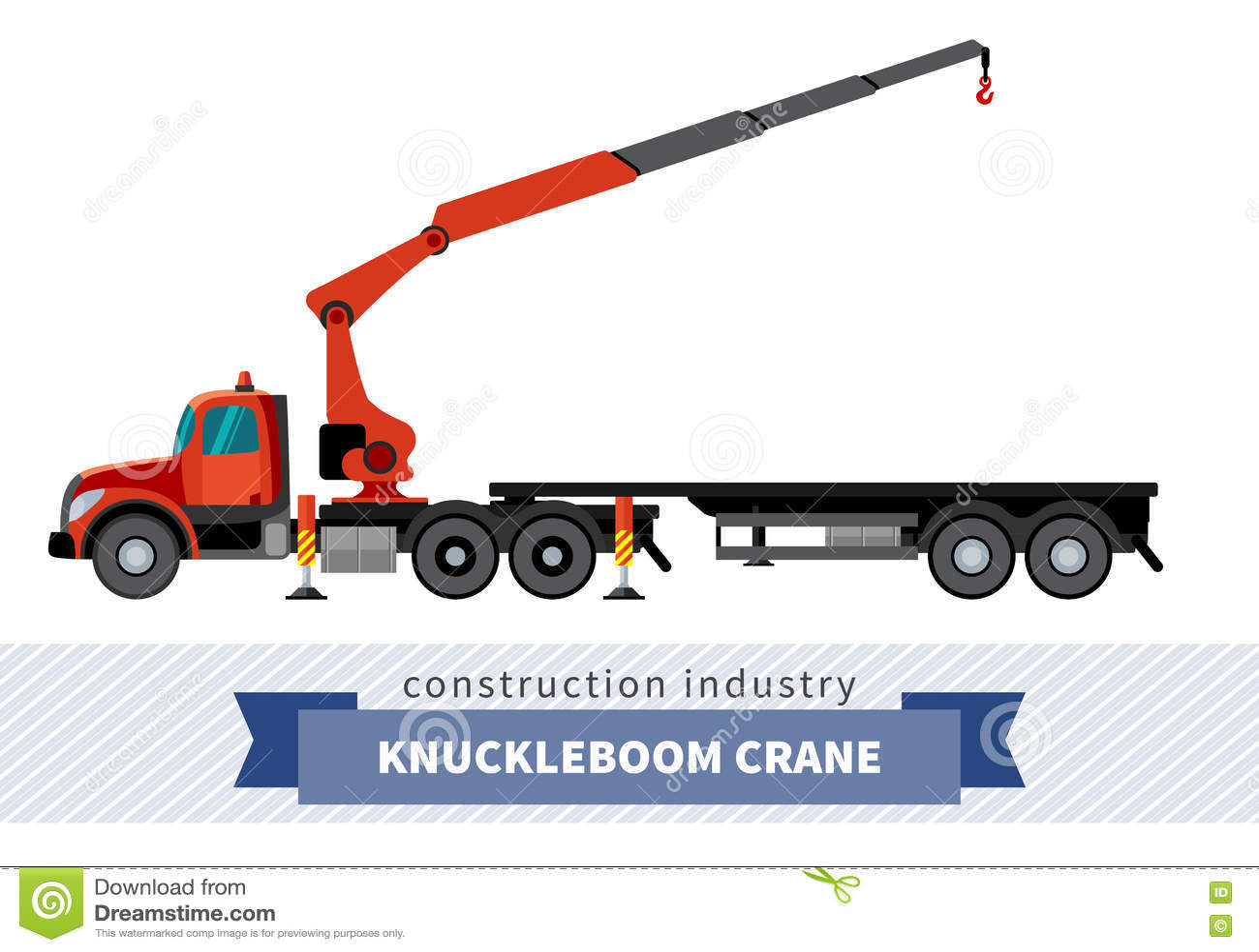 Knuckle Boom Clip Art