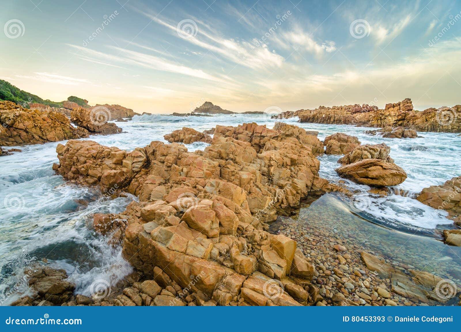 Knysna Landscape, Garden Route, Indian Ocean, South Africa Stock ...