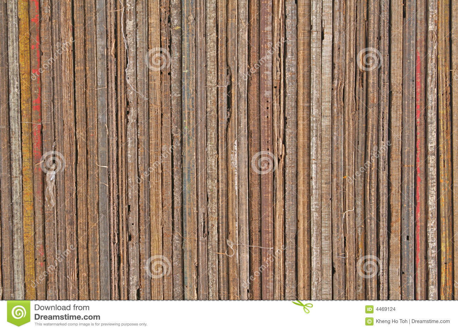 Kołek zaszaluje tekstury eleganckim drewnianych