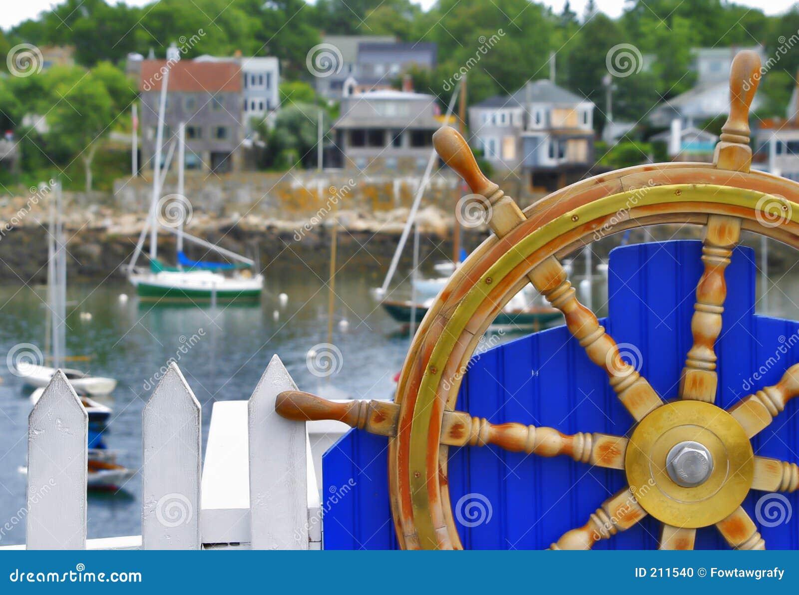 Koło łodzi