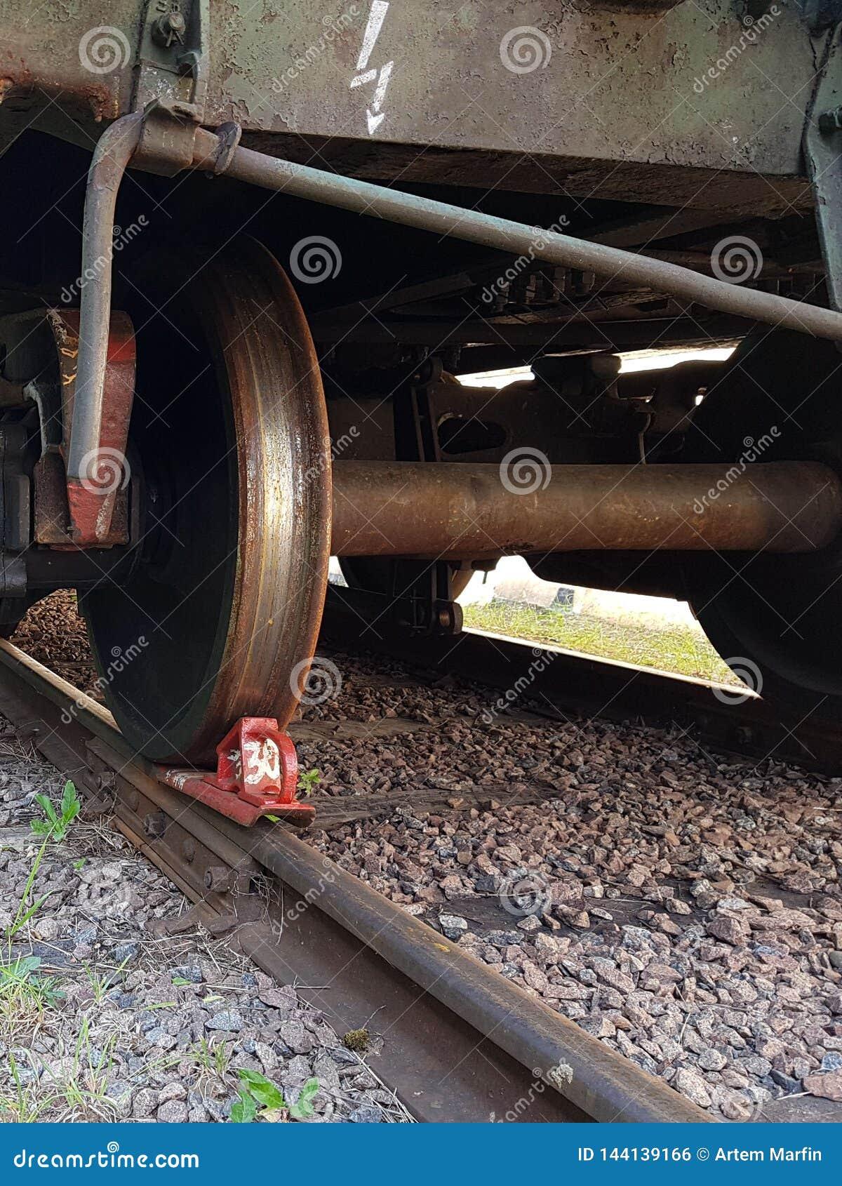 Koło pociąg