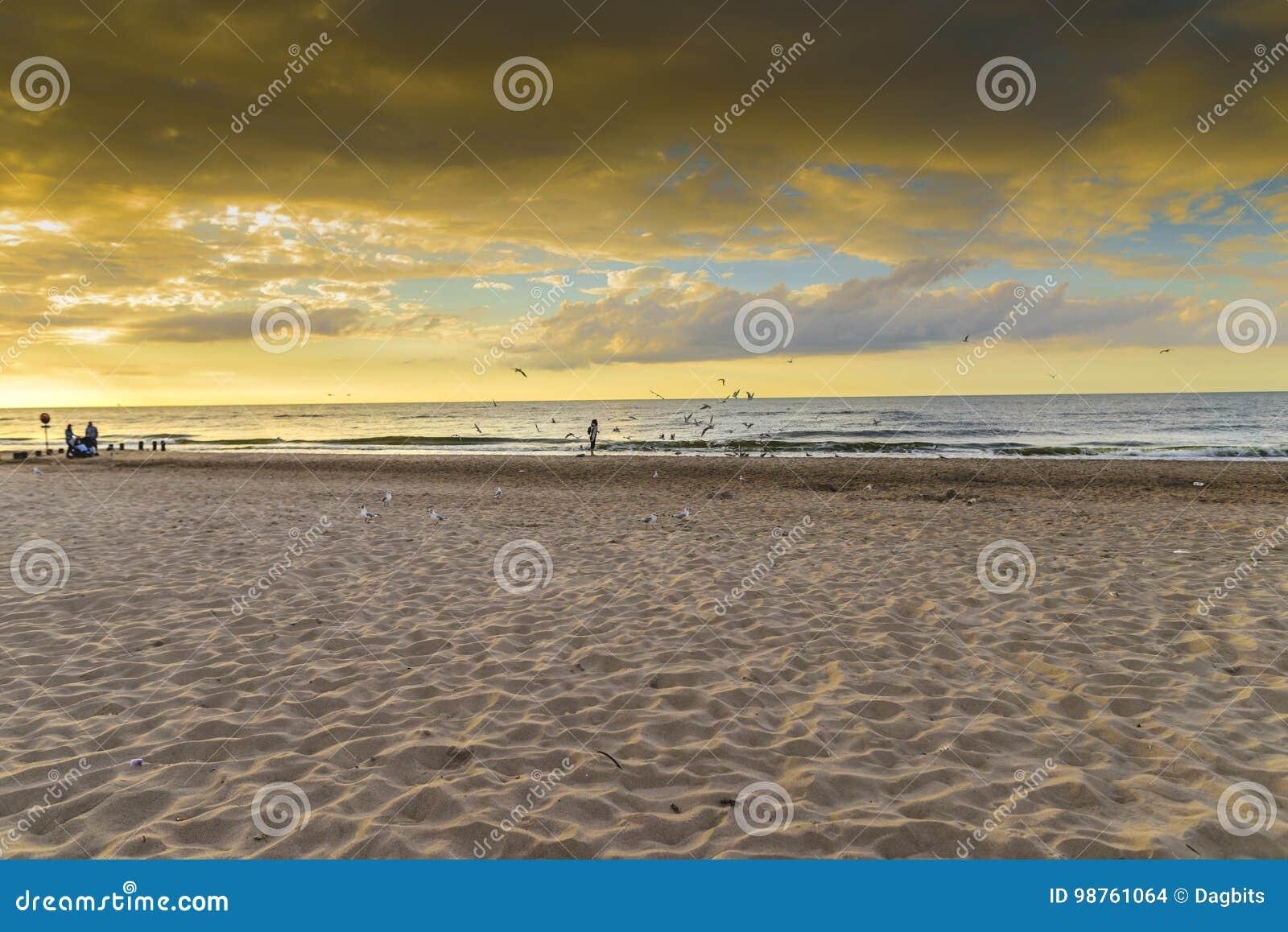 Końcówka lato, plaża
