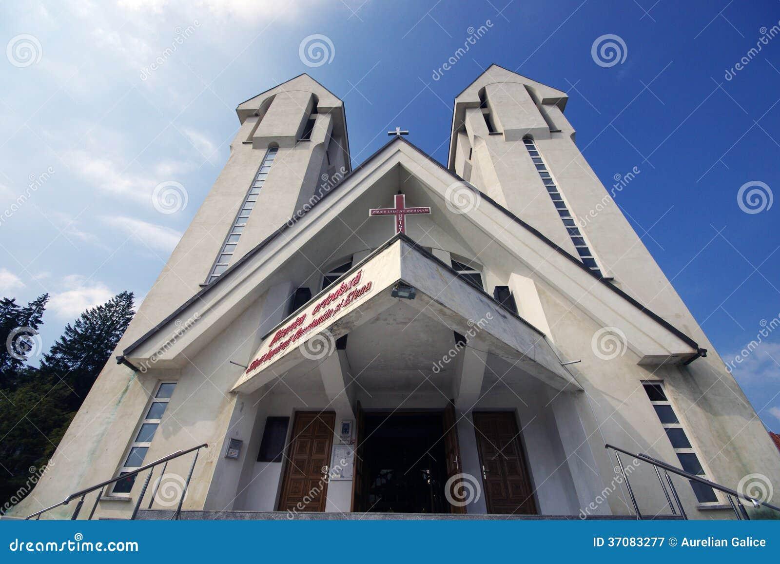 Download Kościół Chrześcijański Constantin Si Elena Obraz Stock - Obraz złożonej z religia, helene: 37083277
