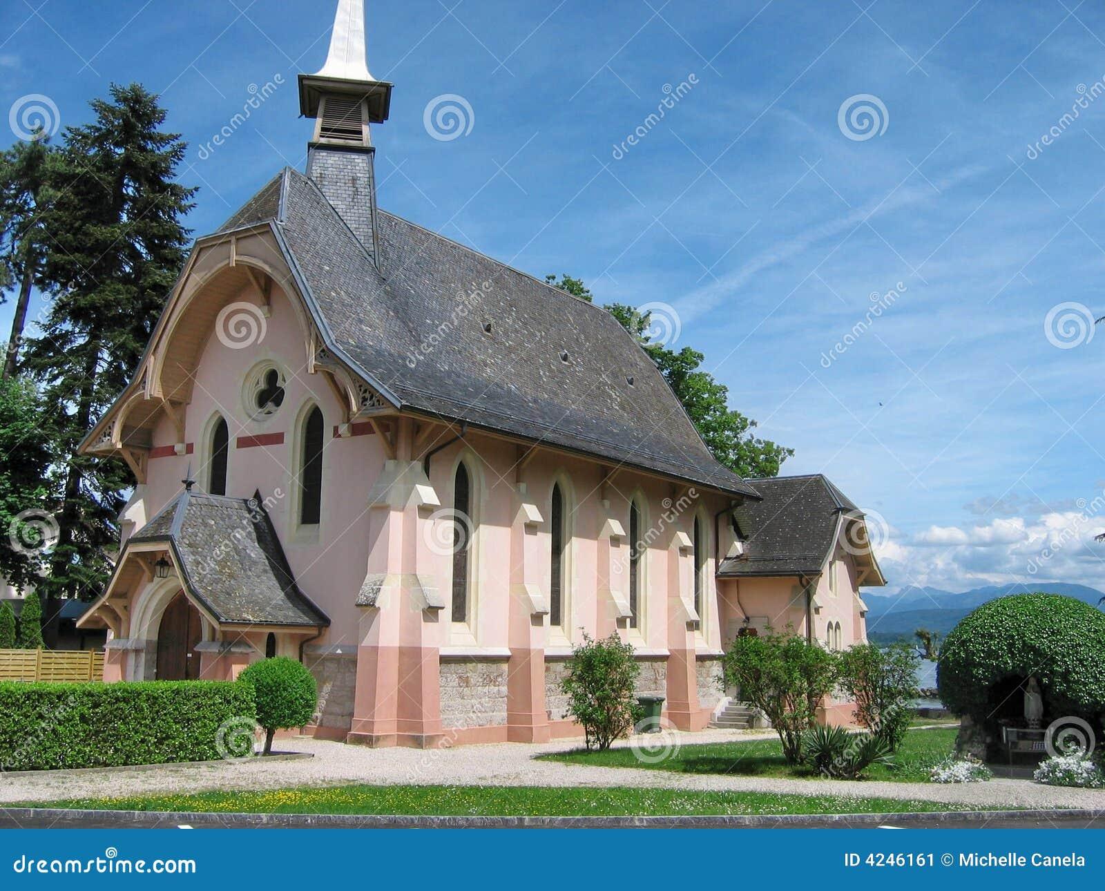 Kościół Genewie Szwajcarii