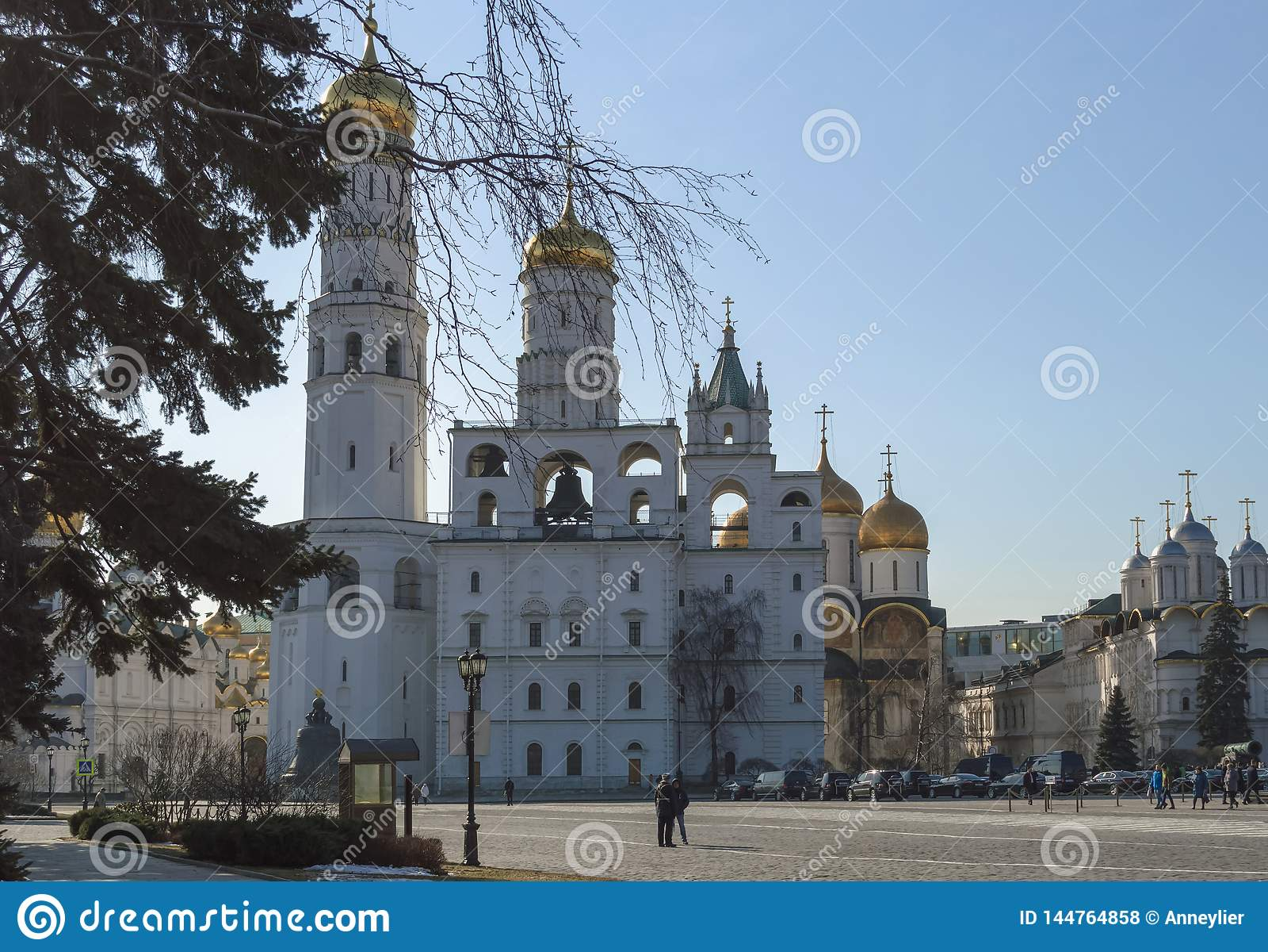 Kościół i katedry wśrodku Kremlin