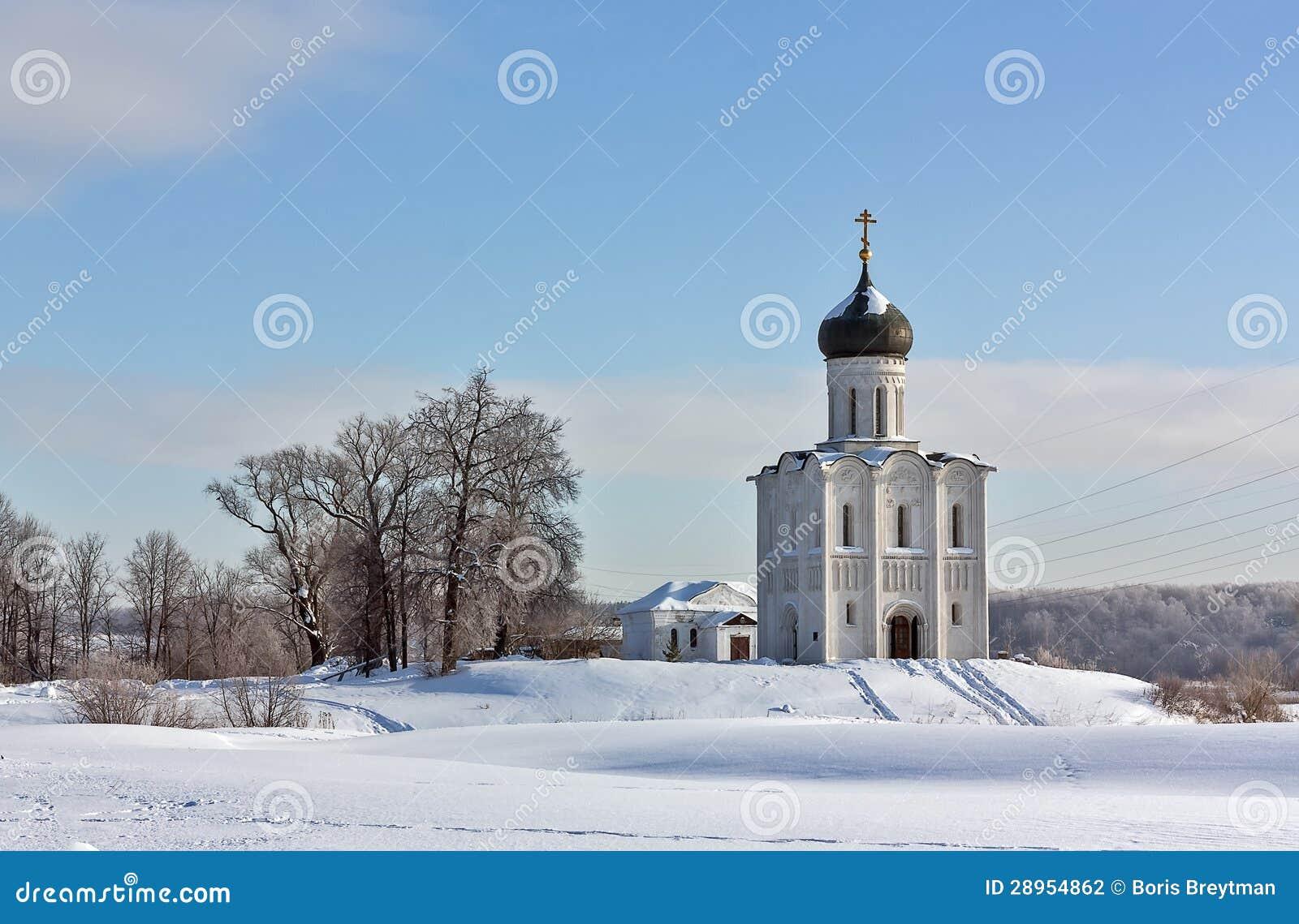 Kościół intercesja na Nerl, Rosja