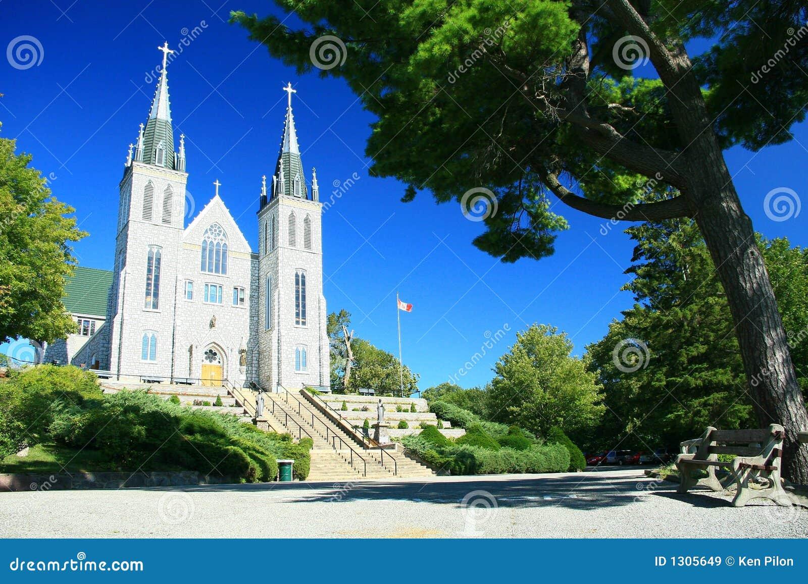 Kościół katolicki zamęczająca rzymska jest świątynia