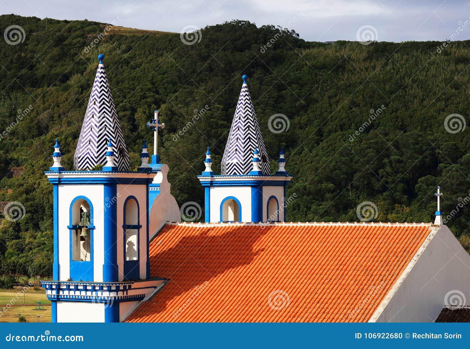 Kościół Nossa Senhora da Conceicao w Angra robi Heroismo