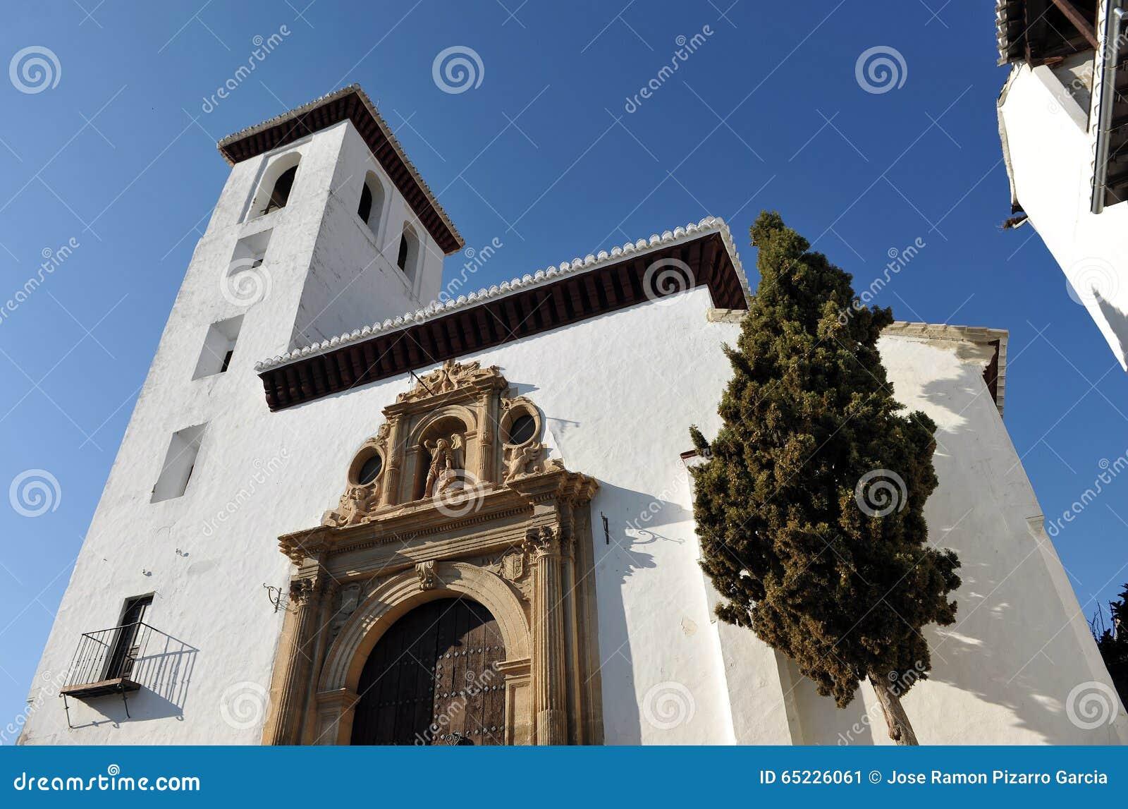 Kościół San Miguel Bajo, Granada, Hiszpania