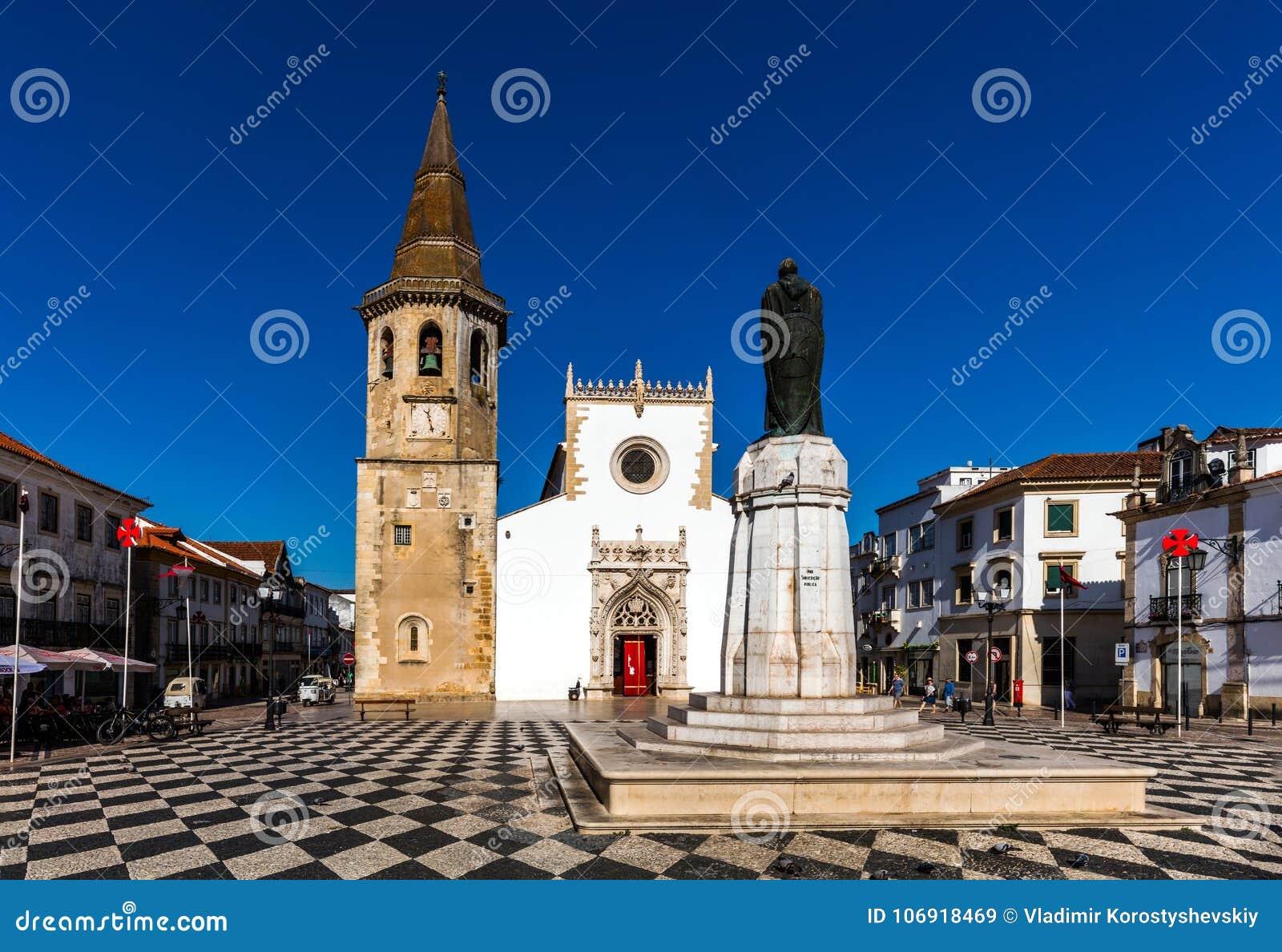 Kościół St John baptysta w Tomar, Portugalia