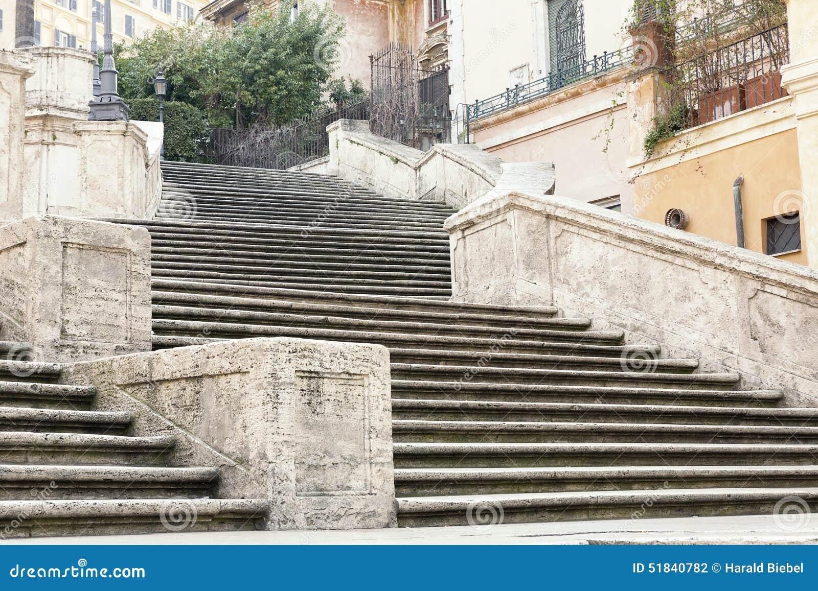 Kościelnego dei Italy monti Rome hiszpańscy kroki nakrywają trinit