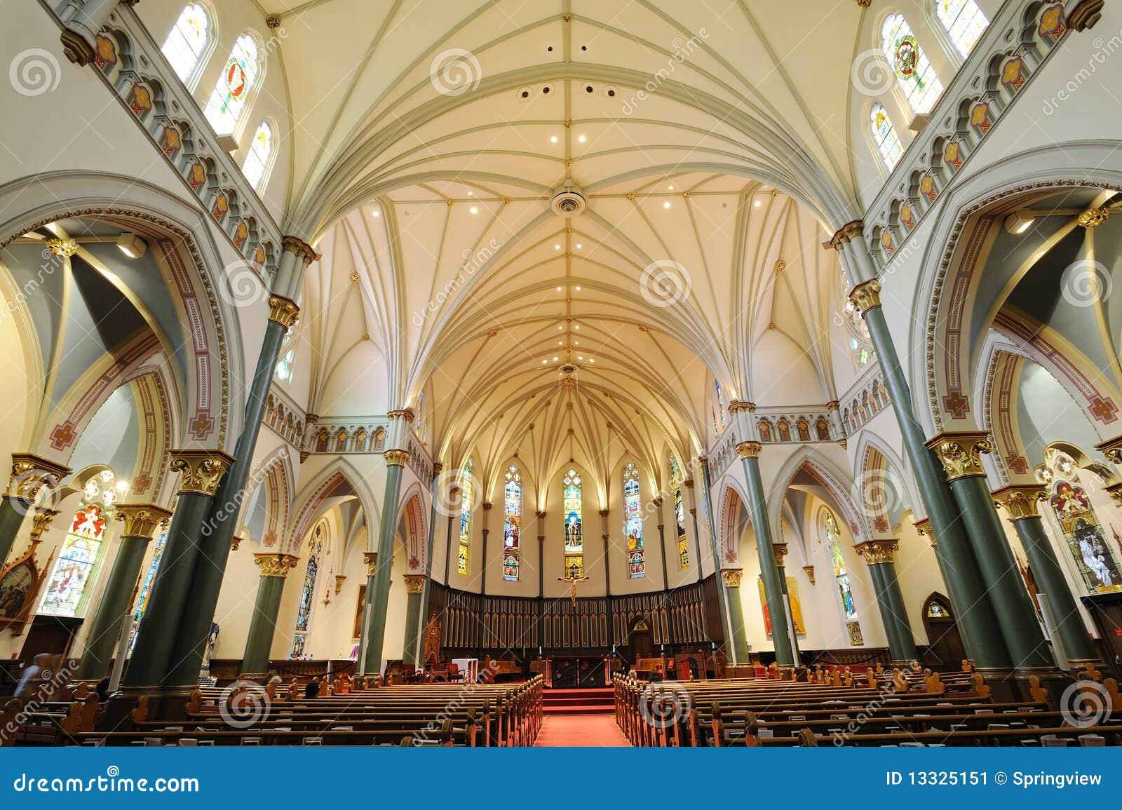 Kościelni wnętrza