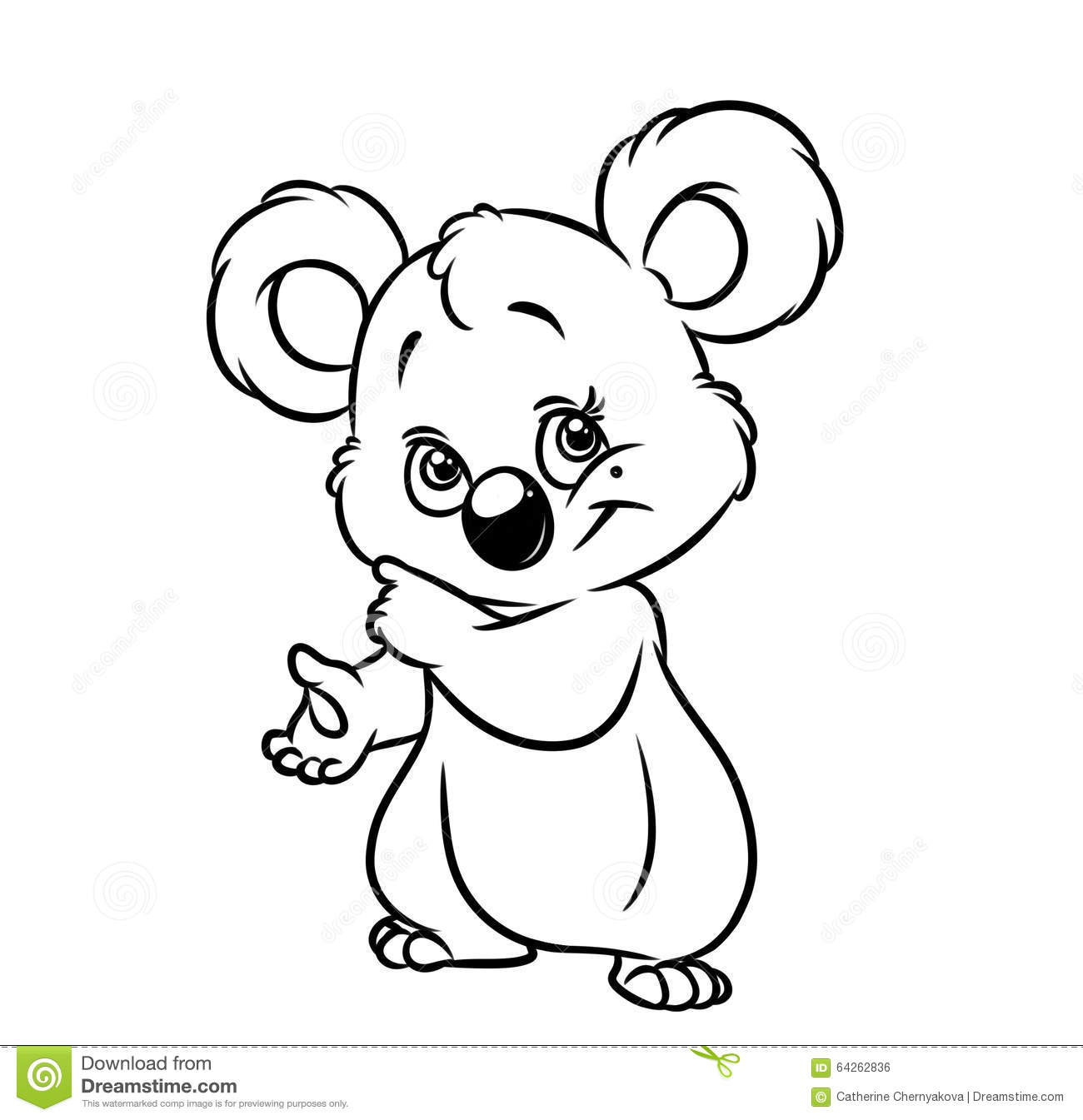 Free No Koala Coloring Pages