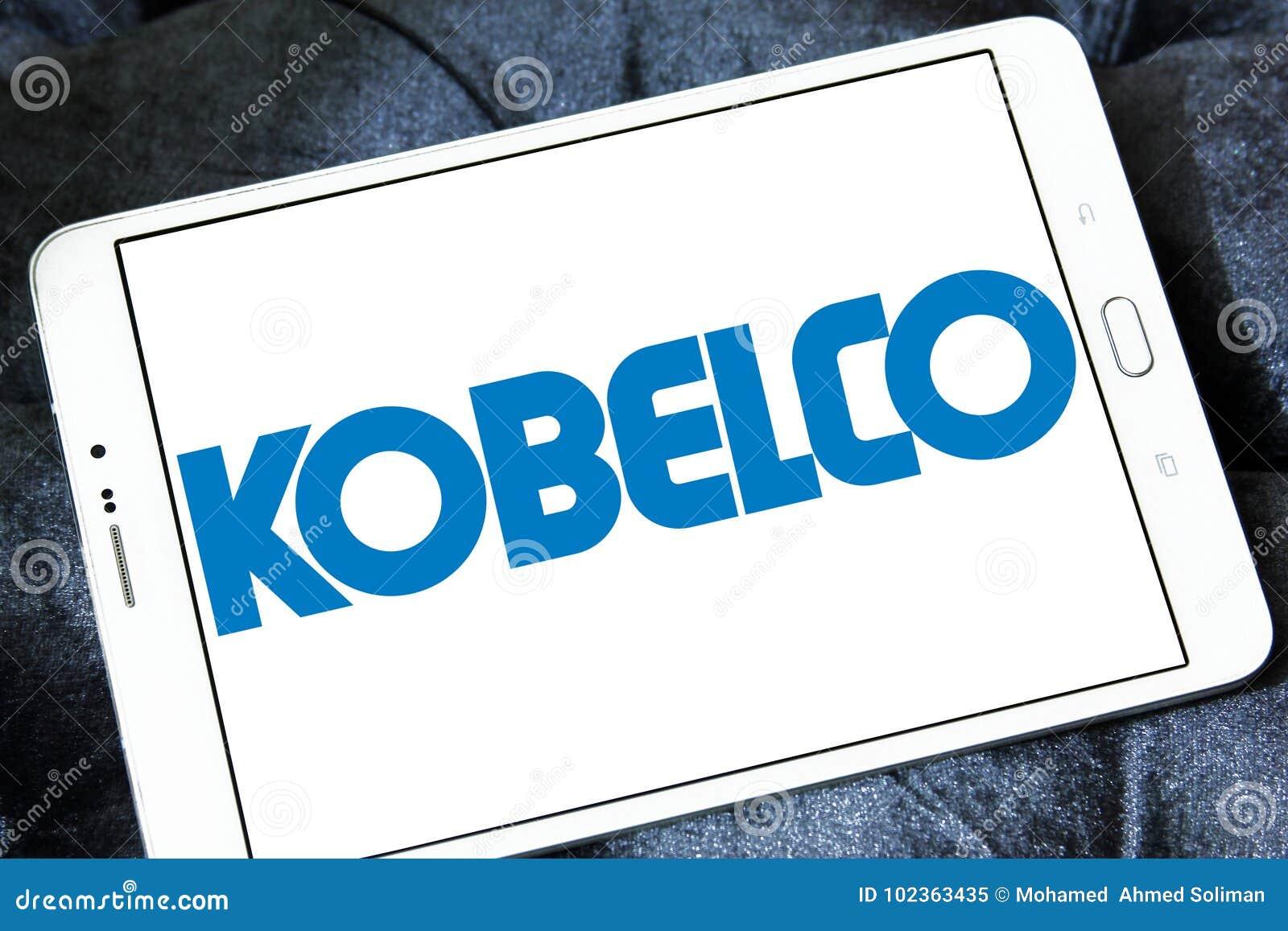 Kobelco steel company logo editorial image  Image of half - 102363435