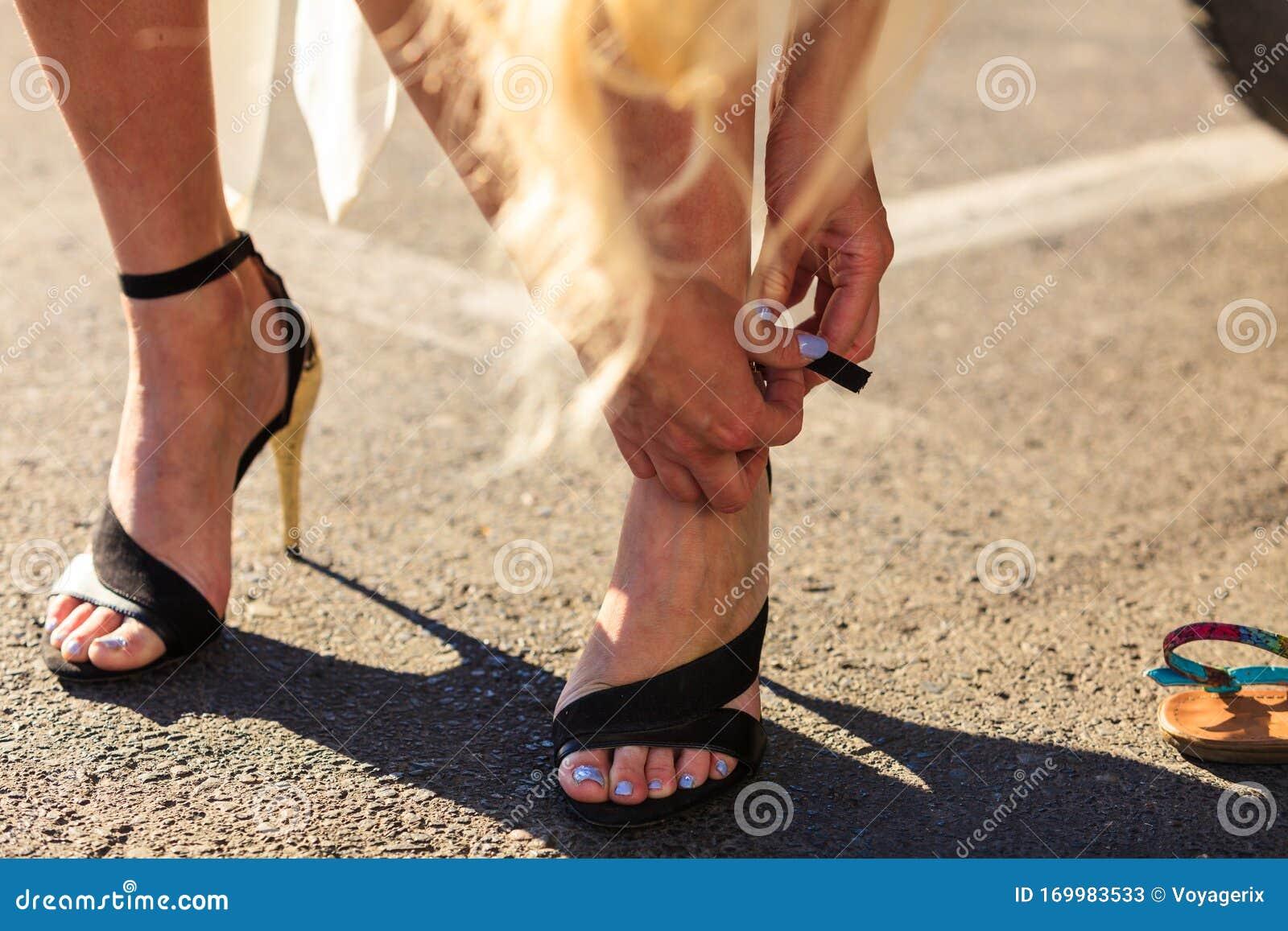 Kobiece stopy Stopy polskich