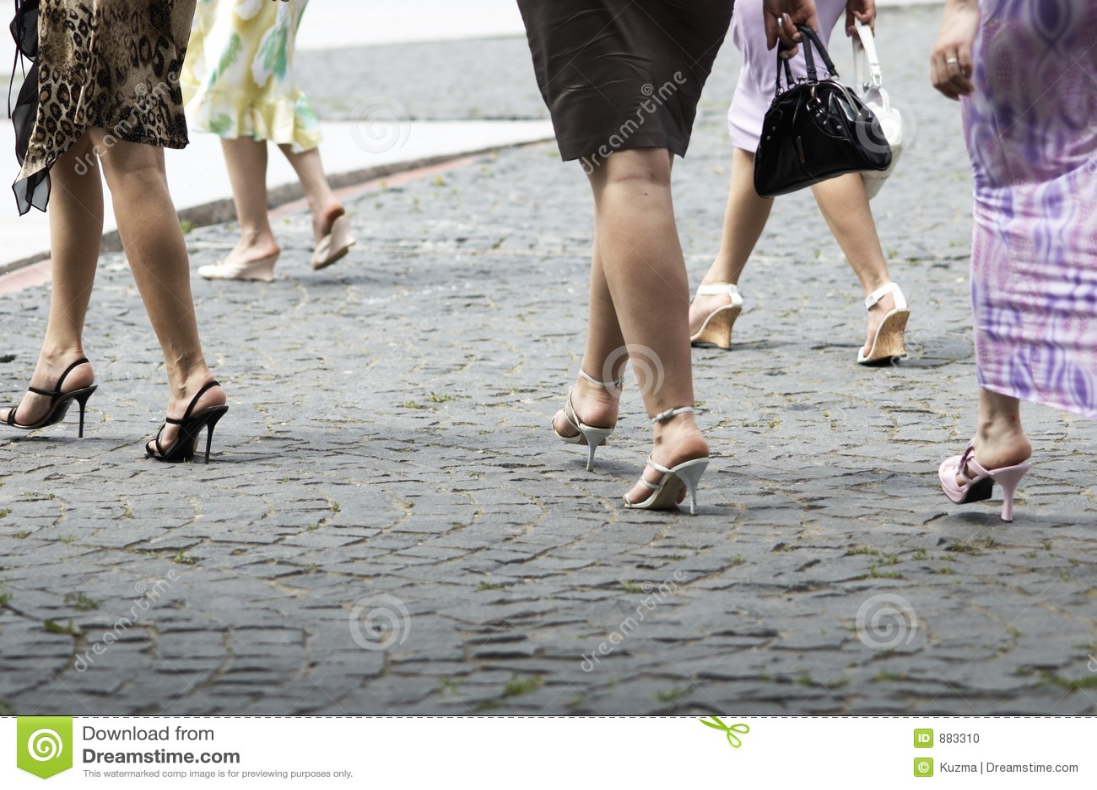 Kobiecy spacery