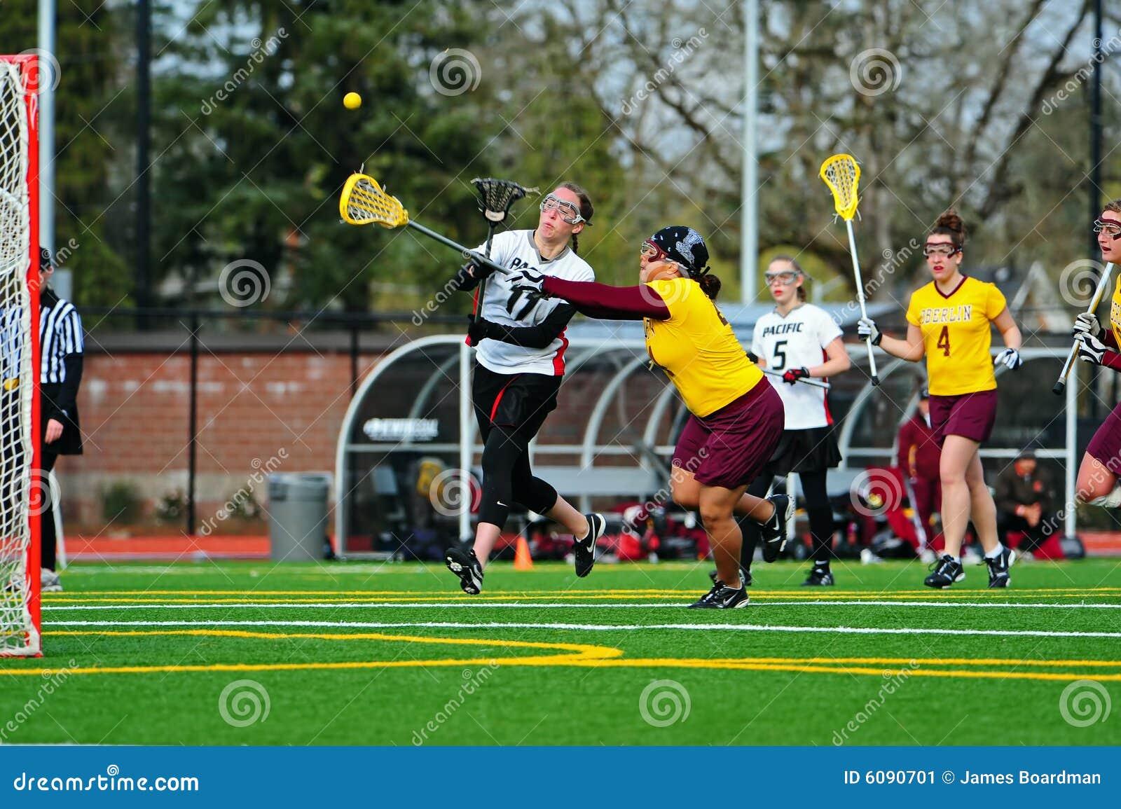 Kobiet lacrosse gra