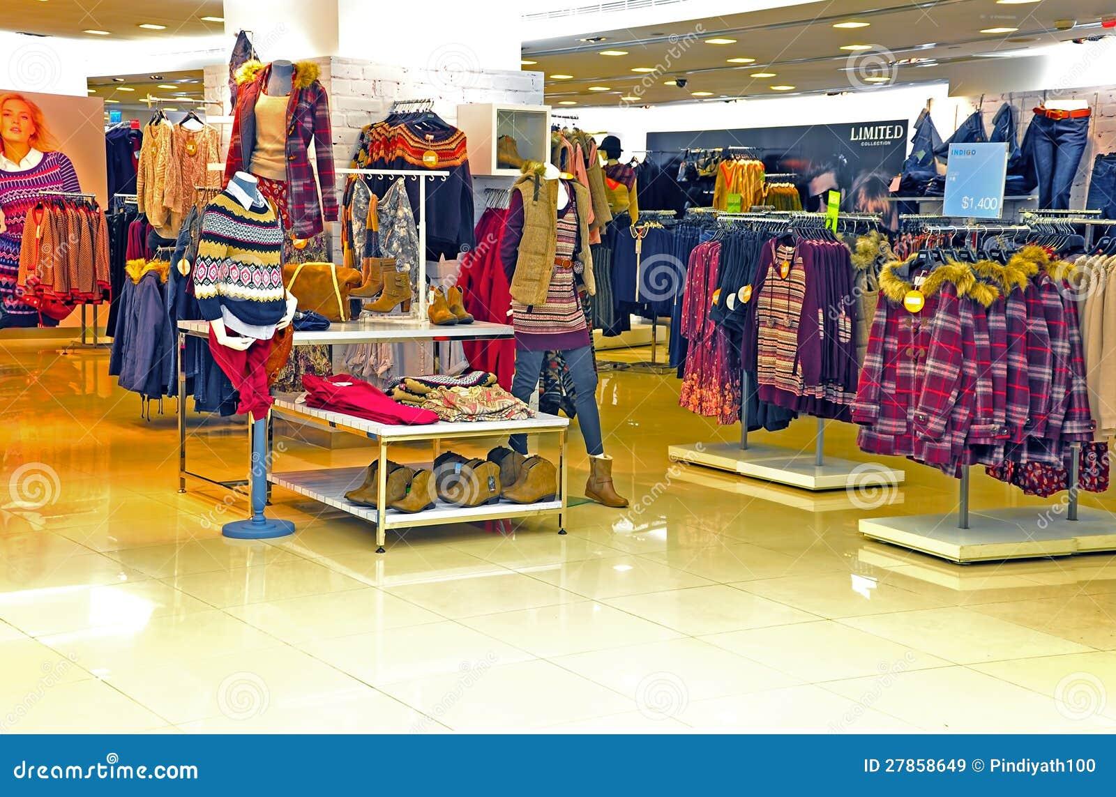 Kobiet zima sklep odzieżowy