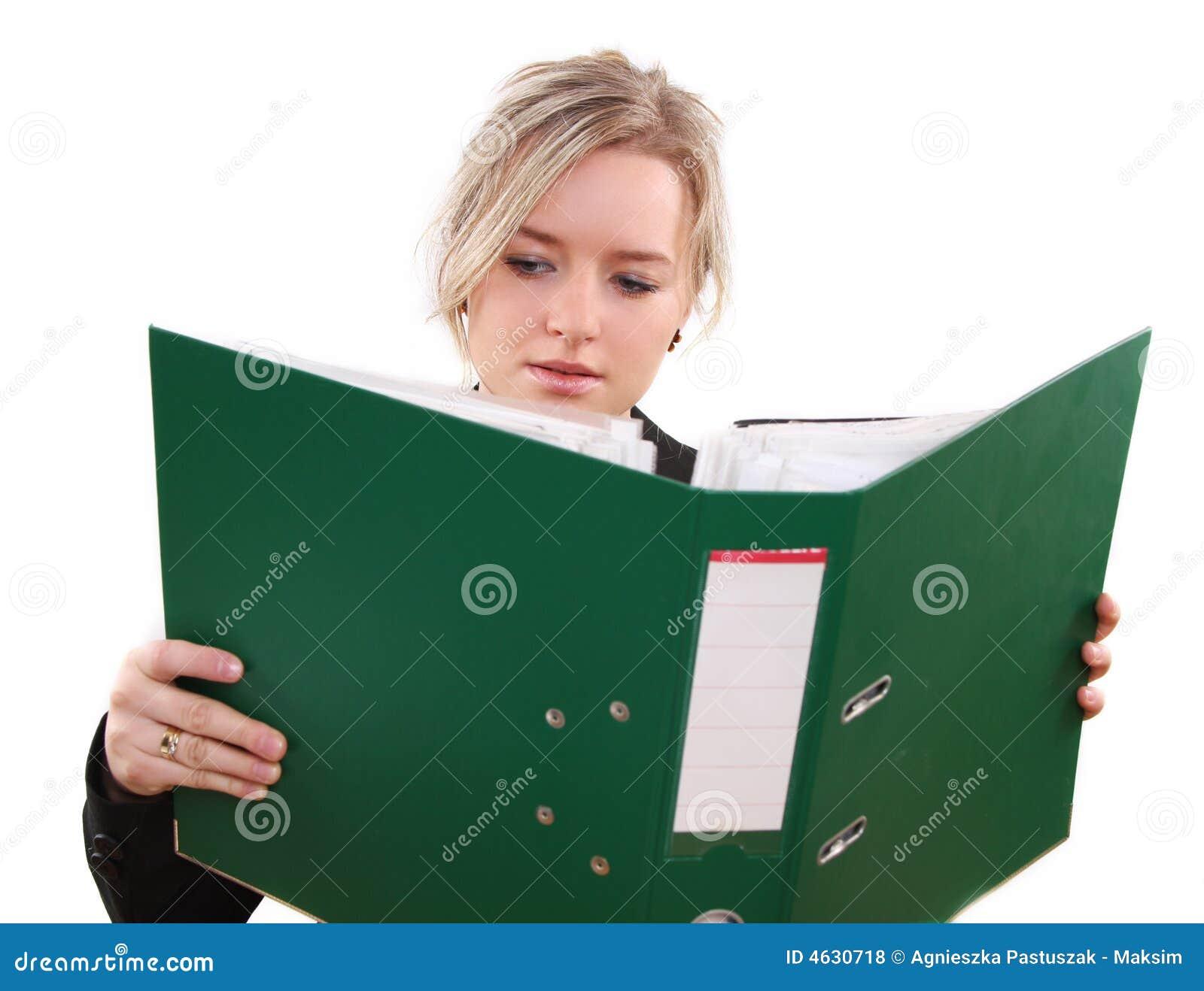 Kobieta biurowych