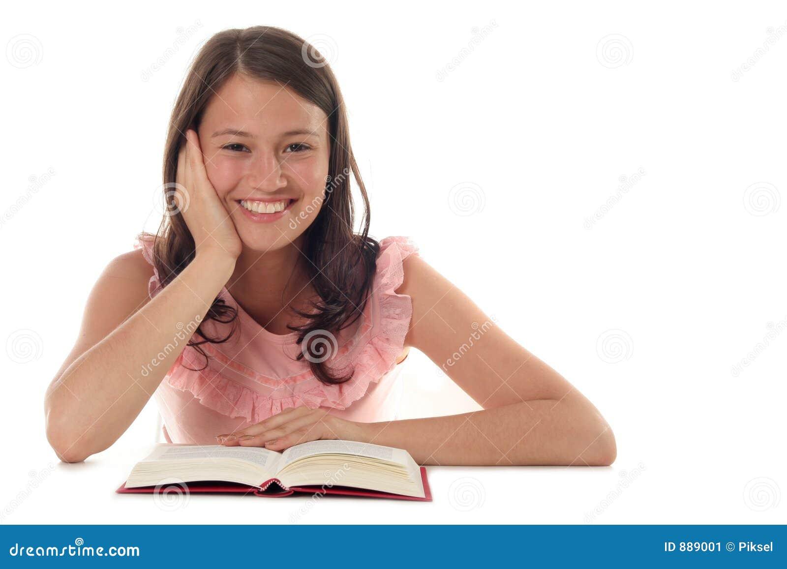 Kobieta czytelnicza księgowa