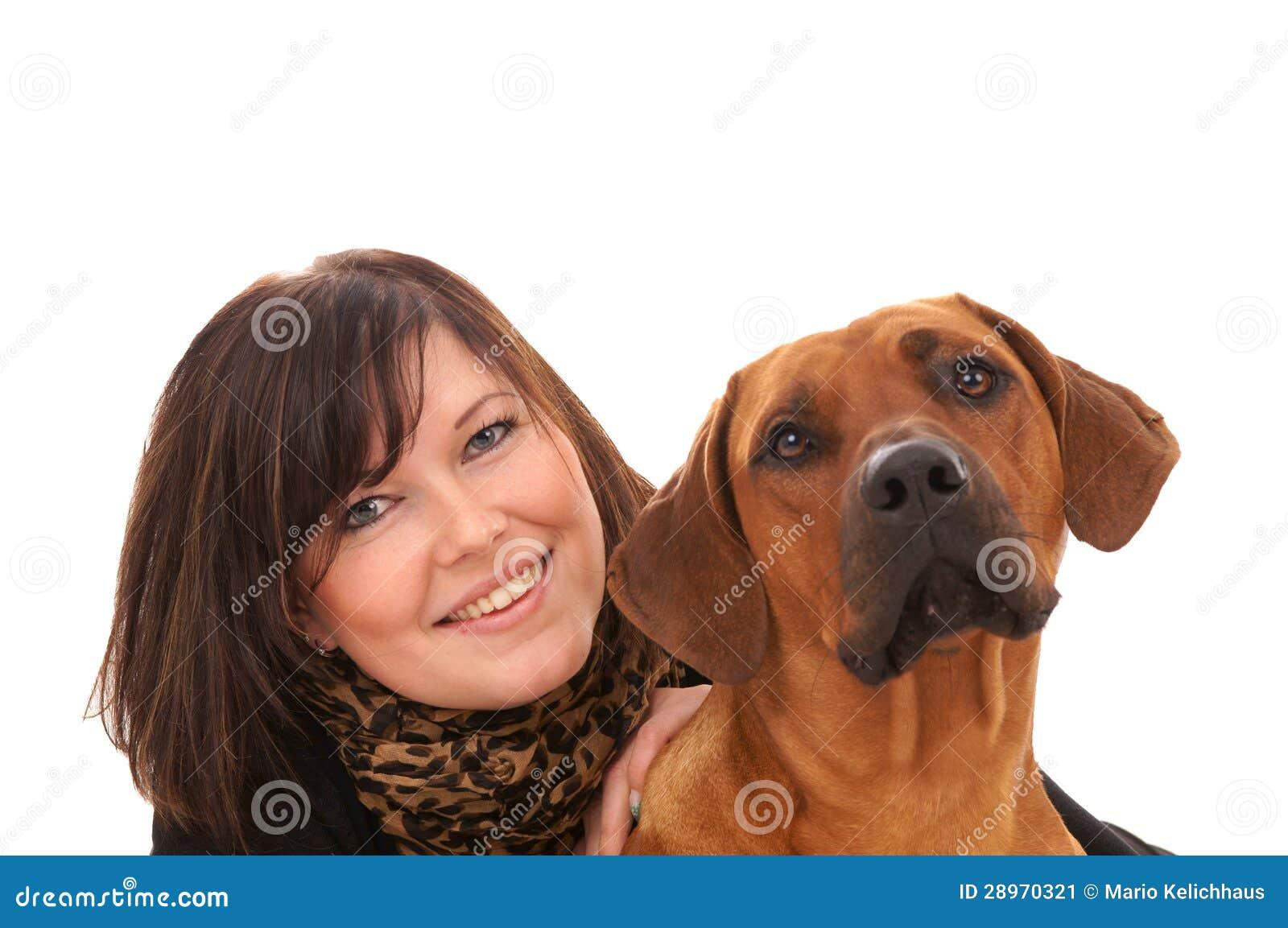 Kobieta i pies