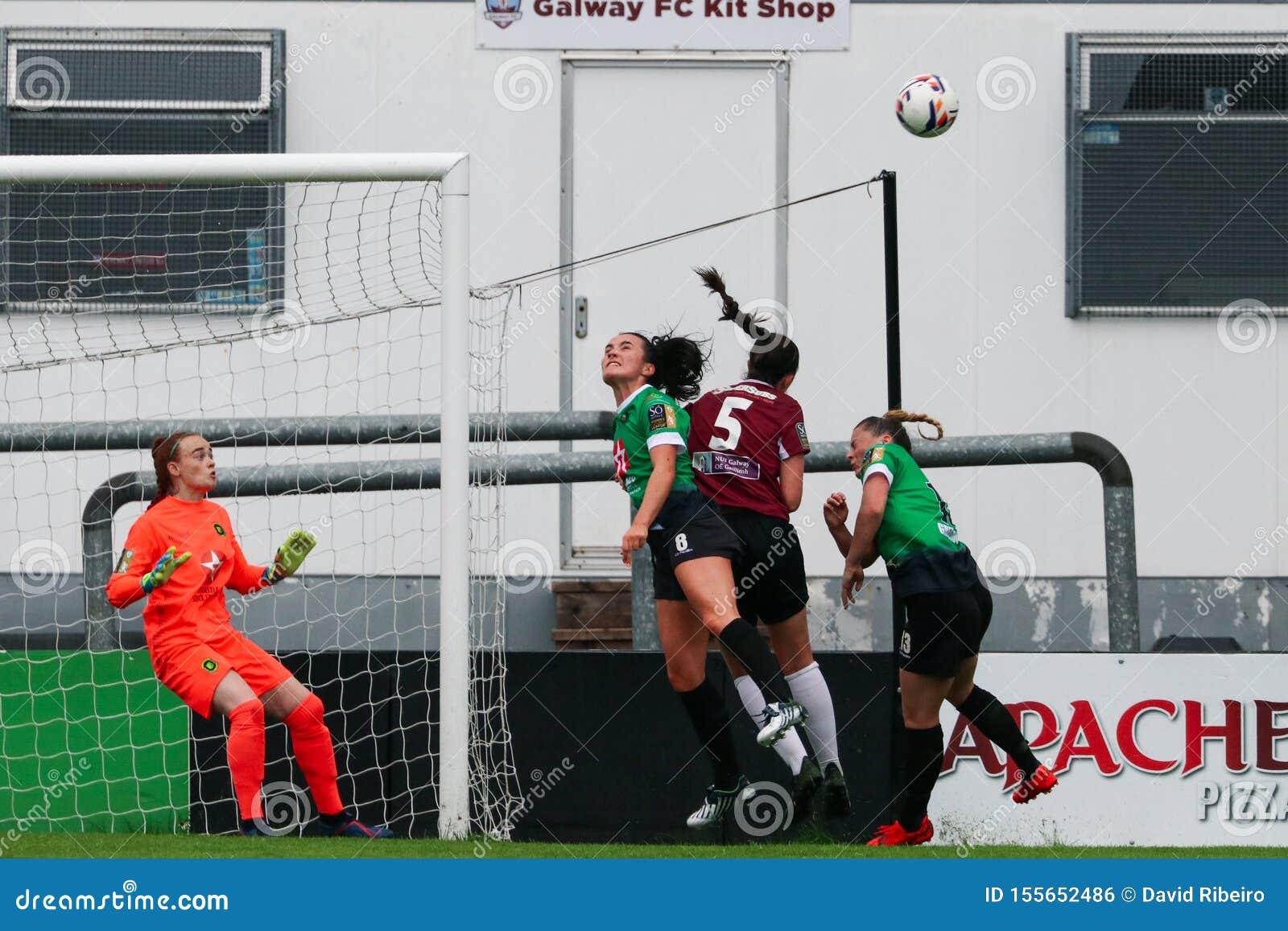 Kobieta Krajowego ligi gra: Galway WFC vs Peamount Jednoczył