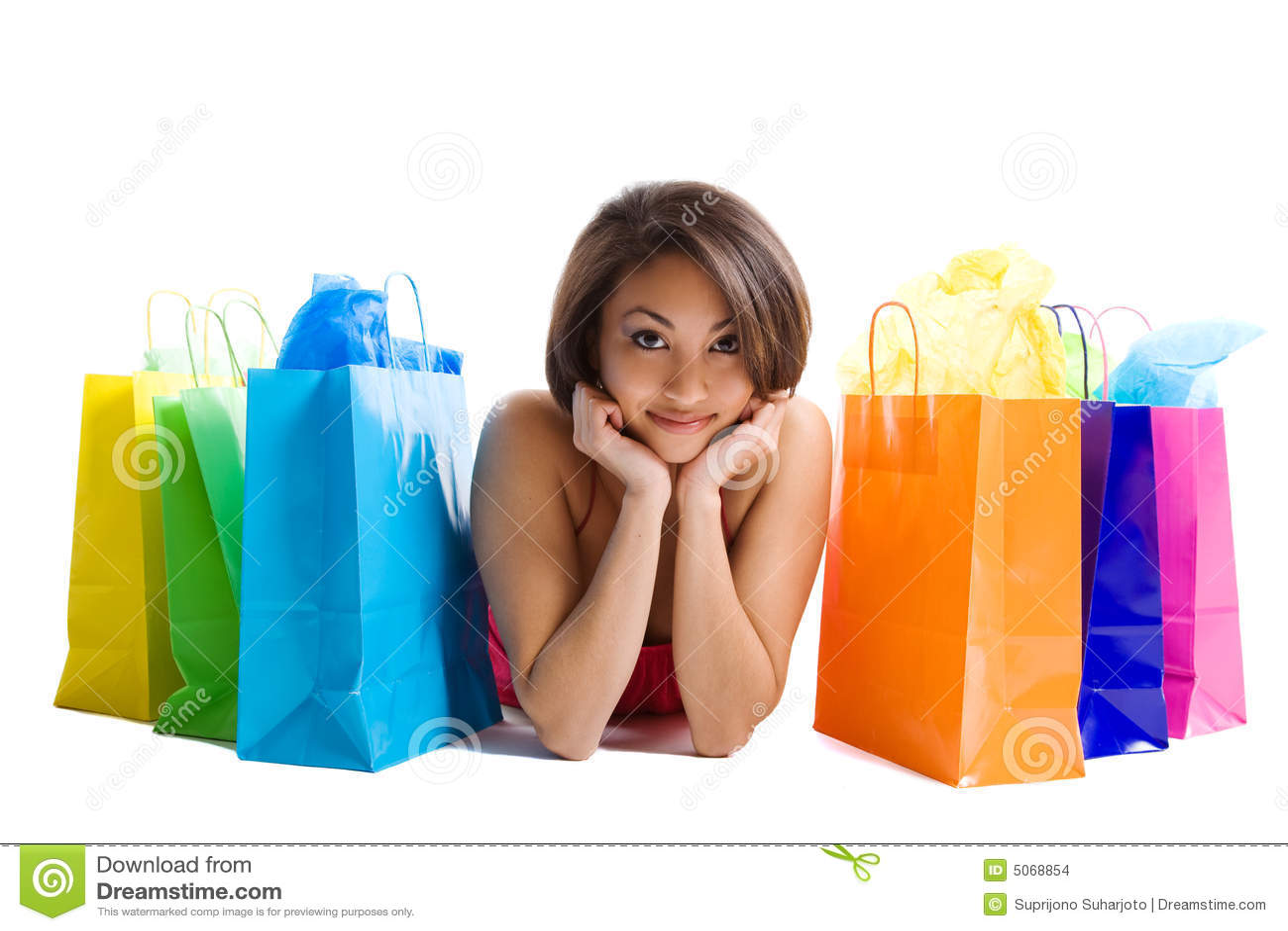 Kobieta na zakupy
