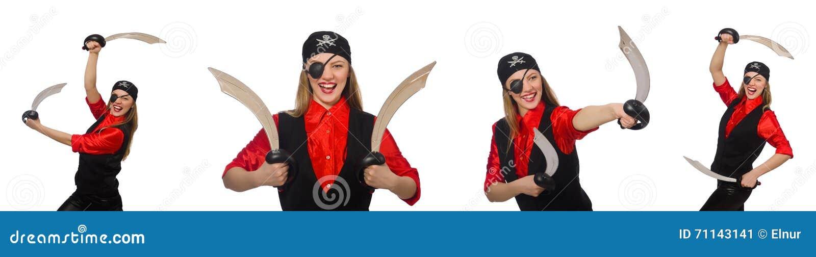 Kobieta pirat