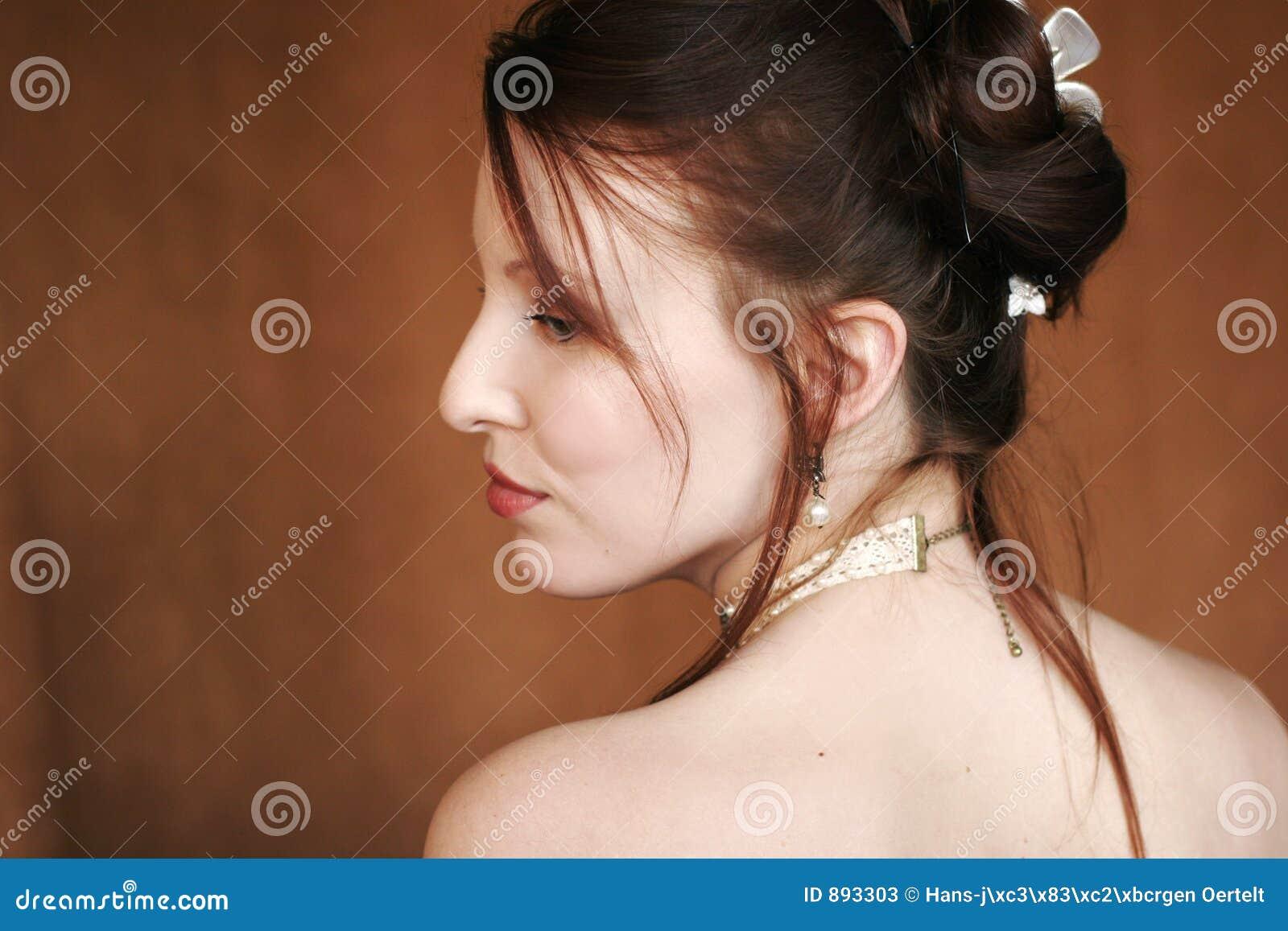 Kobieta profilowa