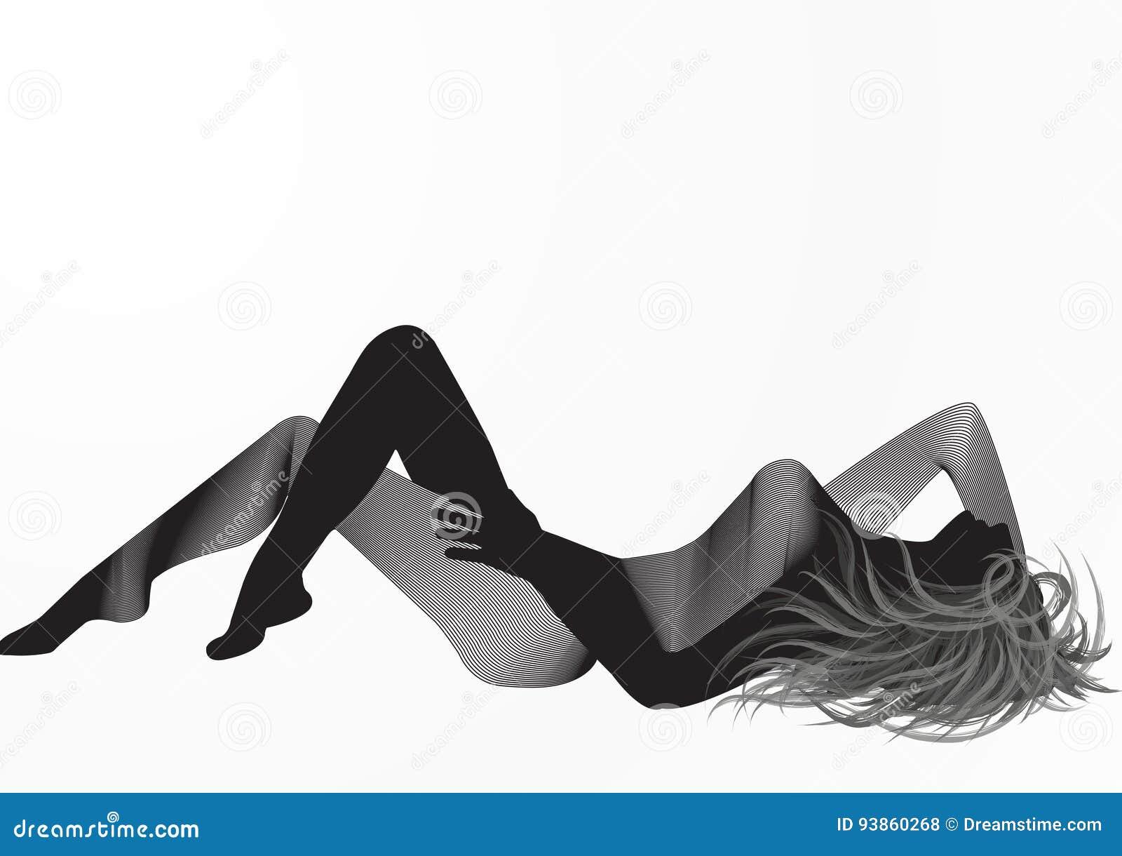 Kobieta sylwetki