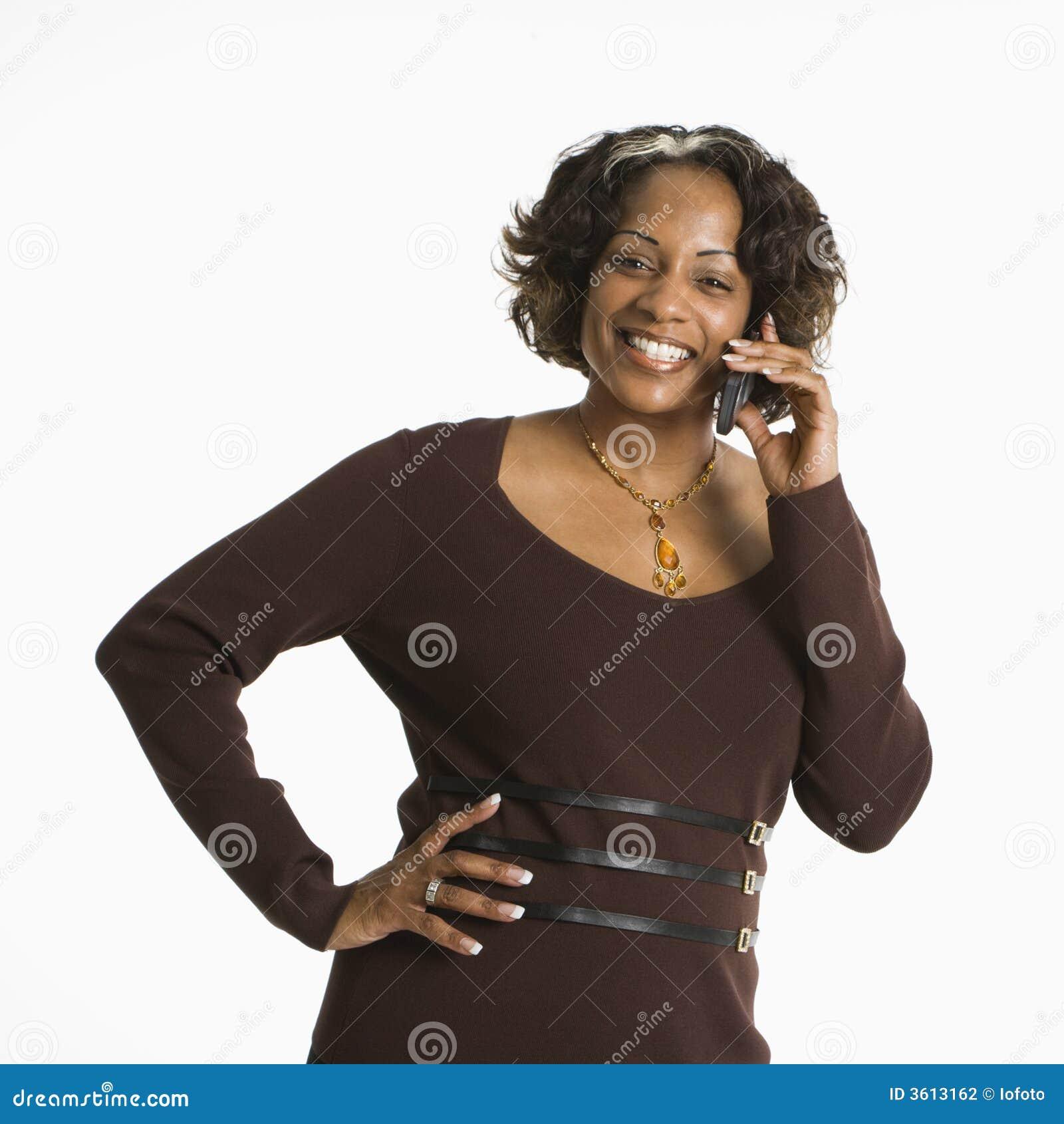 Kobieta telefoniczna