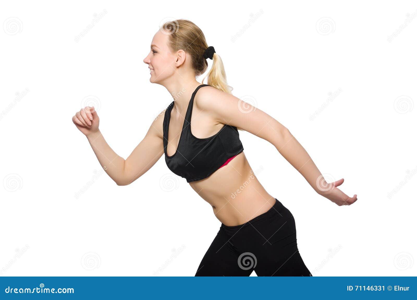 Kobieta w sporta pojęciu