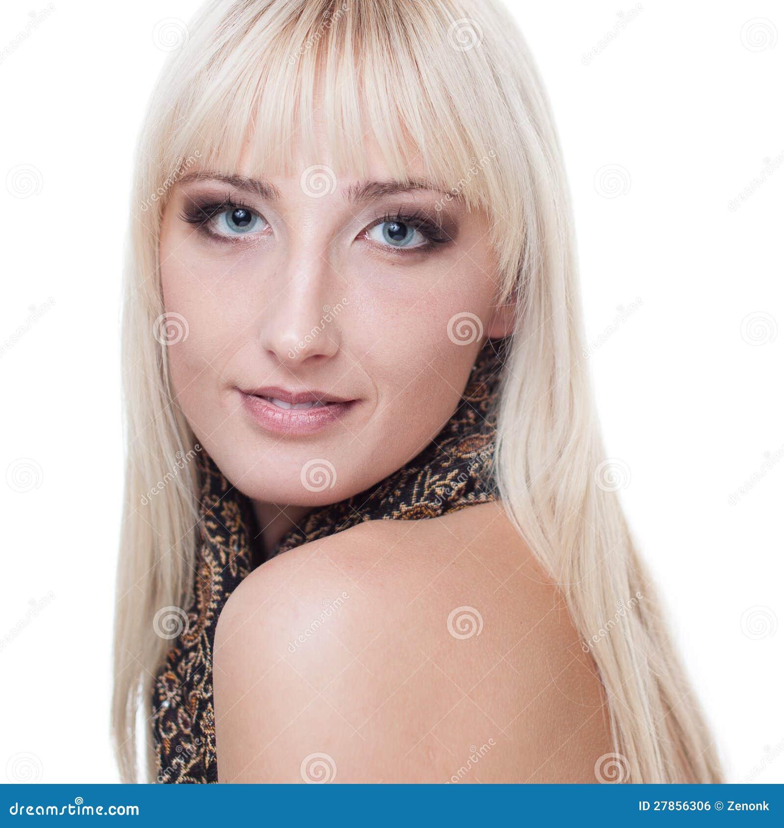 Kobieta z blondynem