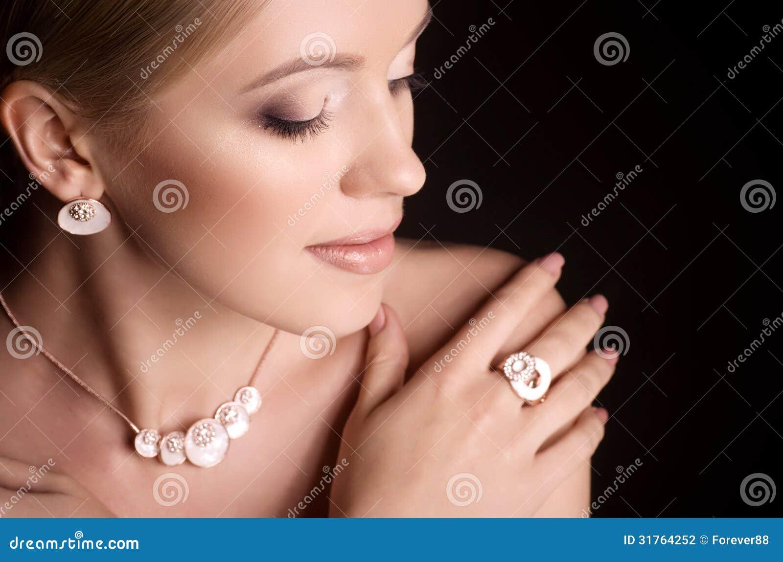 Kobieta z makeup