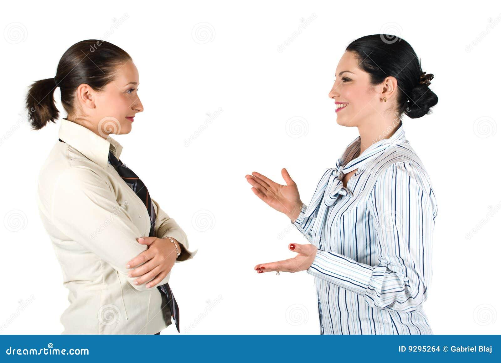Kobiety biznesowa rozmowa