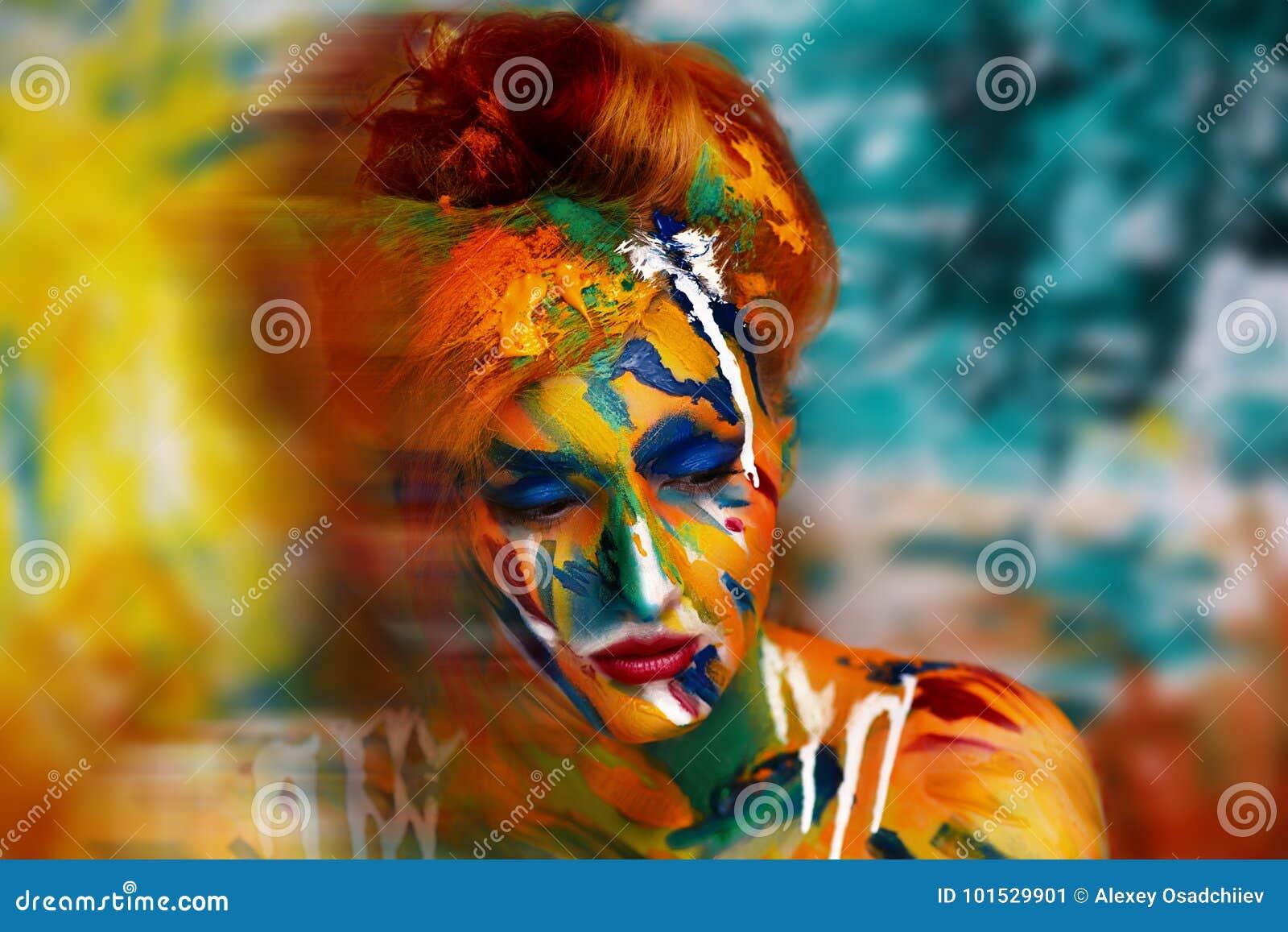 Kobiety farby arcydzieło