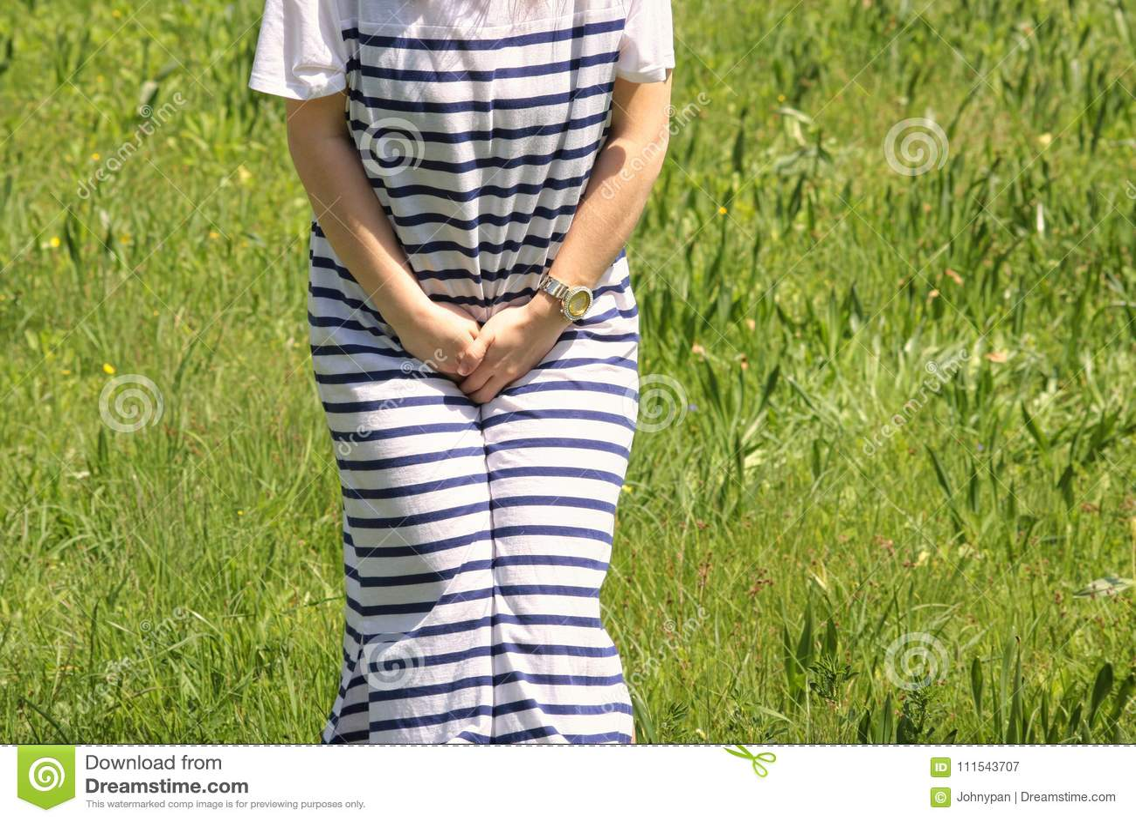 Kobiety mienie herself jako potrzeba urinate