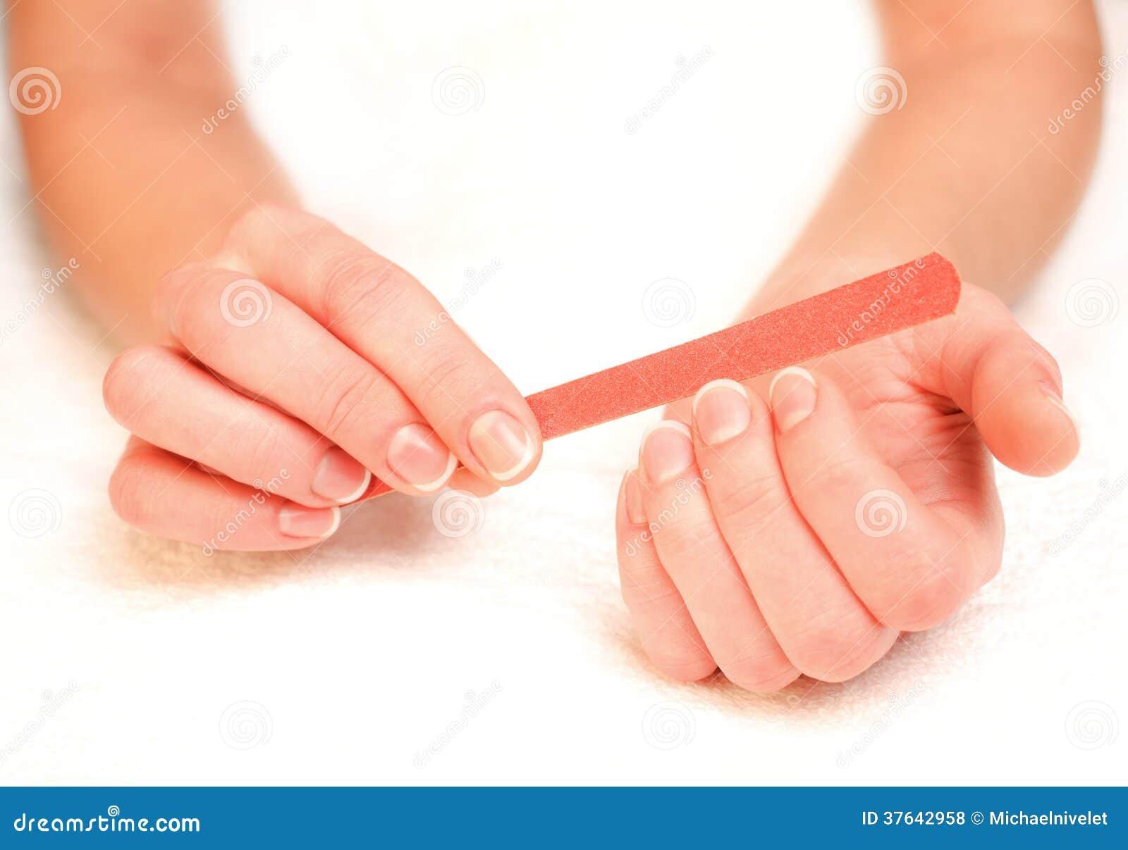 Kobiety segregowania gwoździe