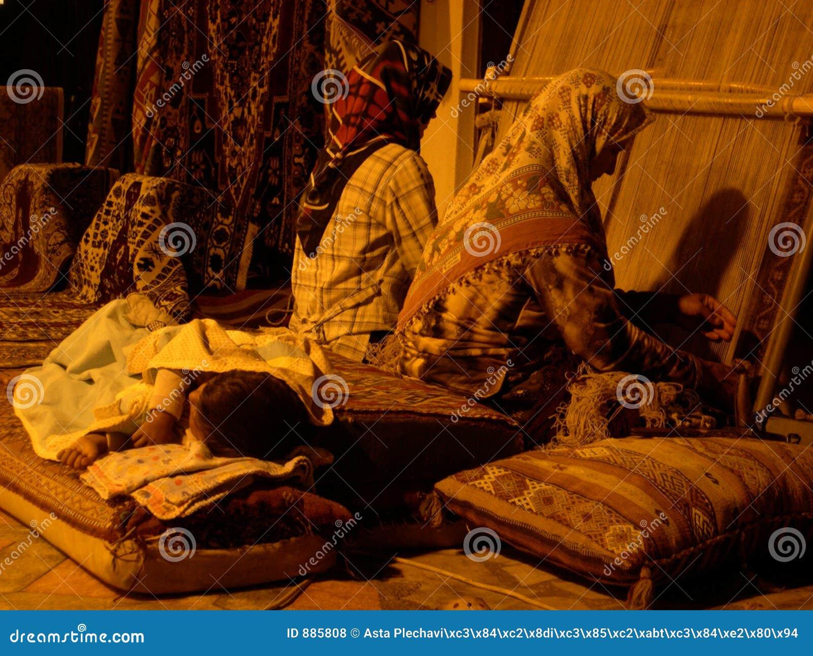 Kobiety tkactwo