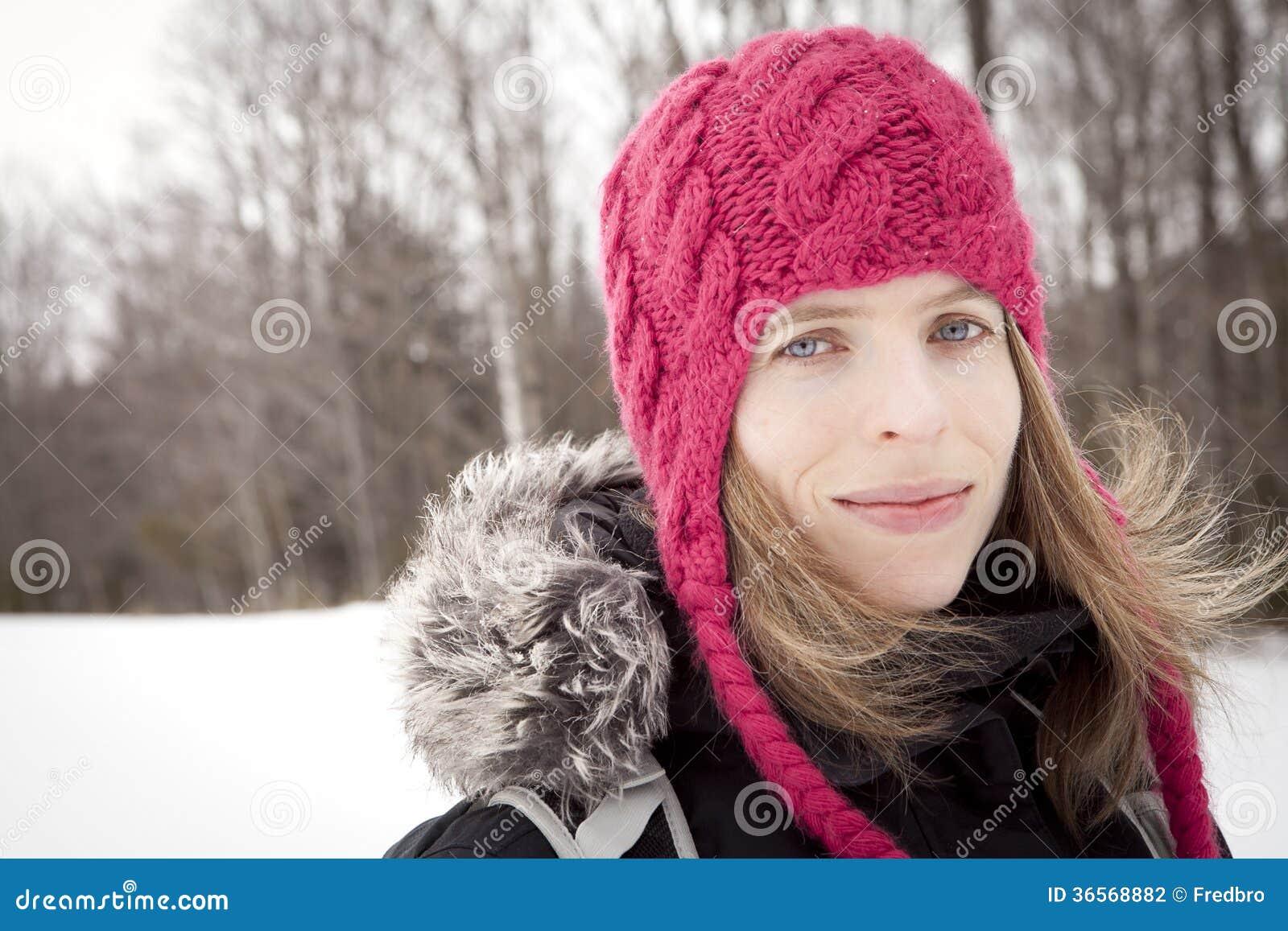 Kobiety zimy portret