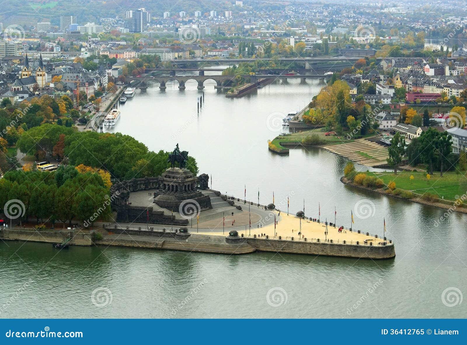 Koblenz niemiec kąt