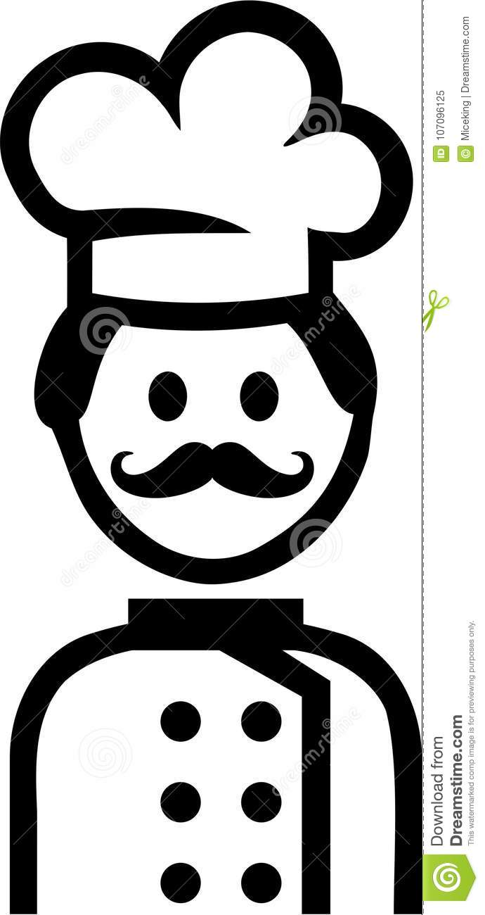 Koch Cooking Pictogram