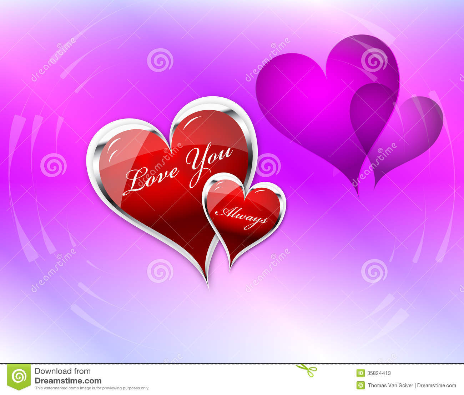 Kocha Ciebie serce kopia